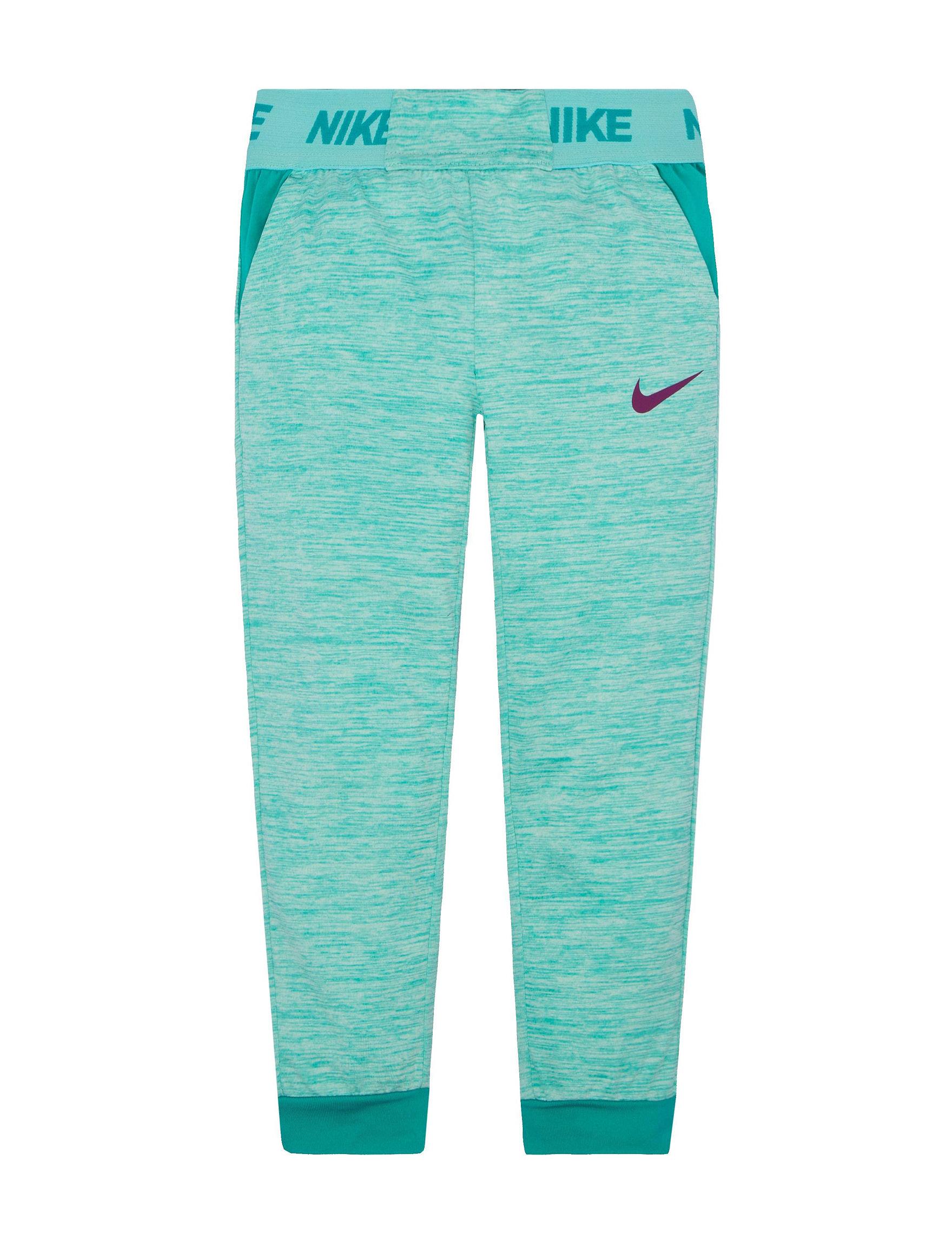 Nike Turquiose Capris & Crops