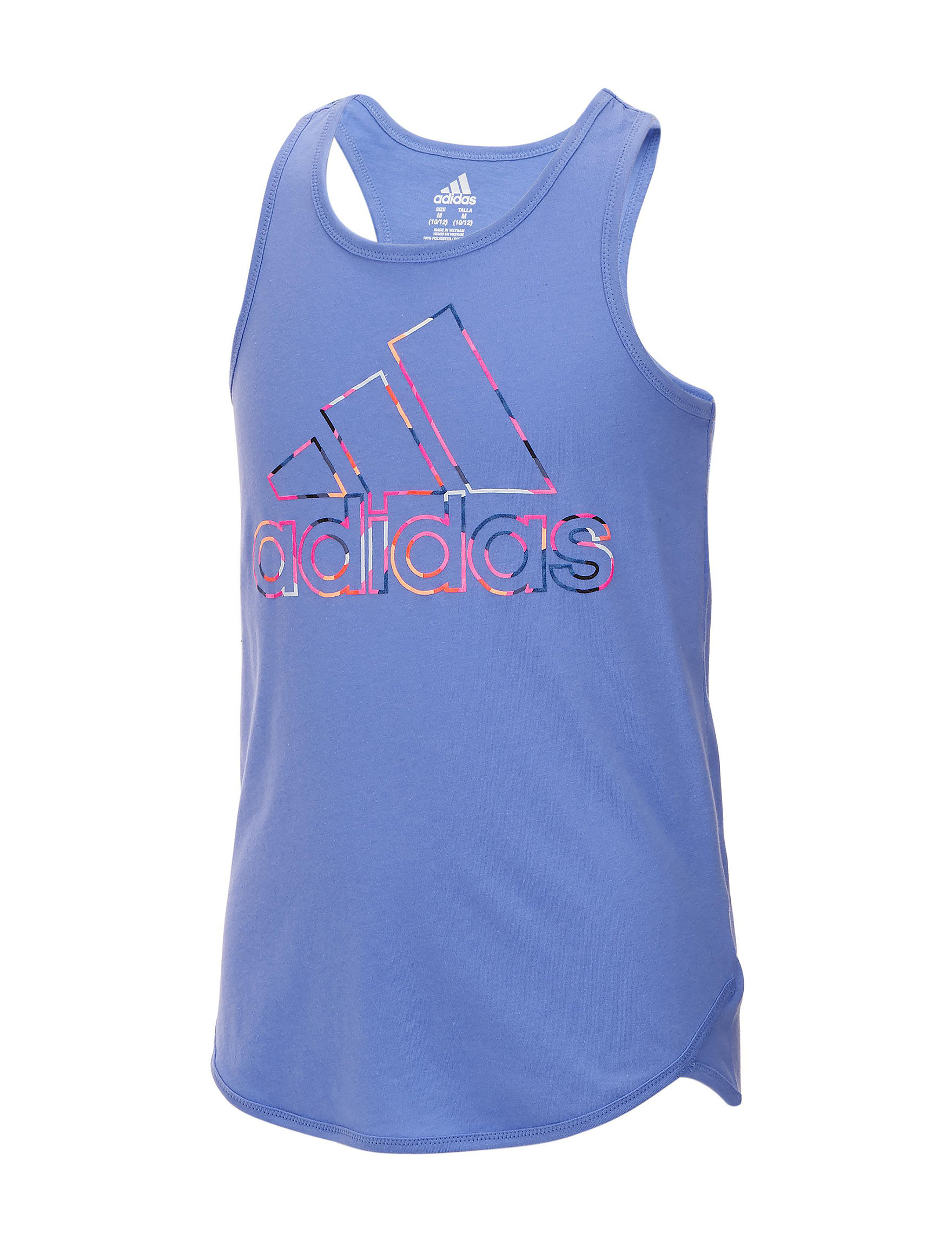 Adidas Light Purple Tees & Tanks