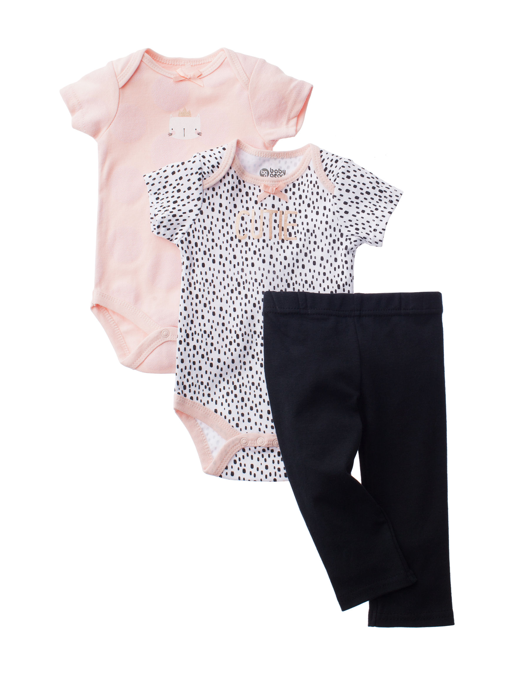 Baby Gear Pink / Black