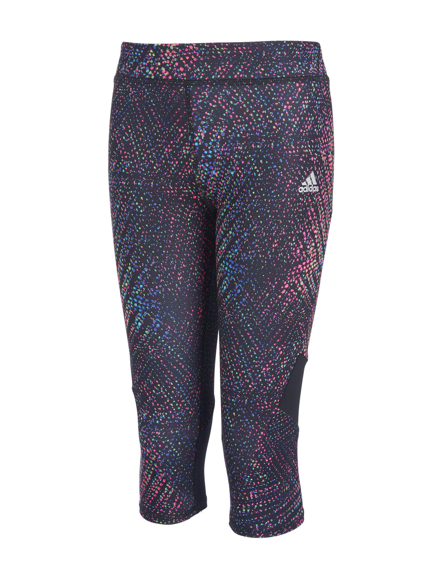 Adidas Black Multi Leggings