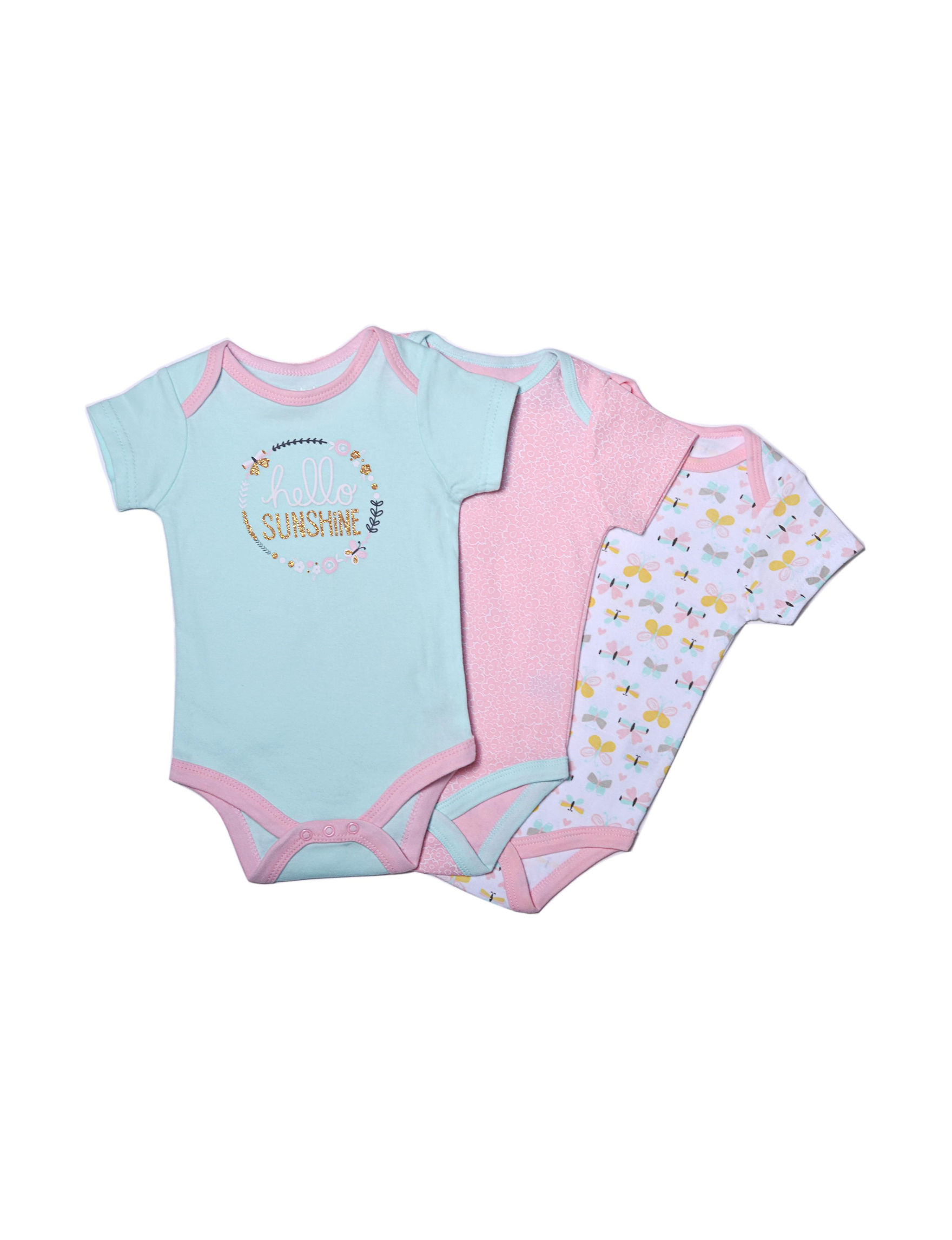 Baby Gear Teal / Pink