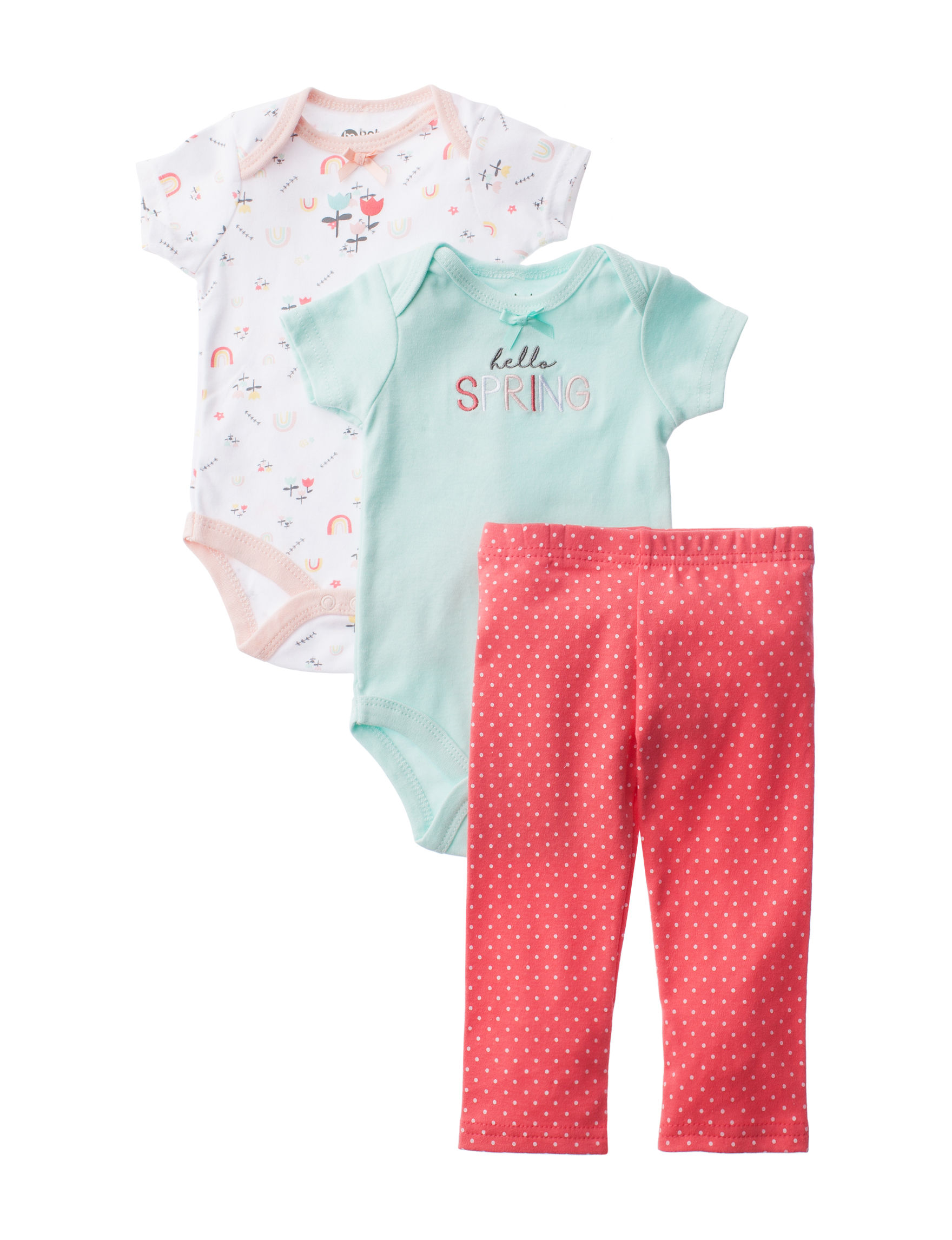 Baby Gear Blue / Coral
