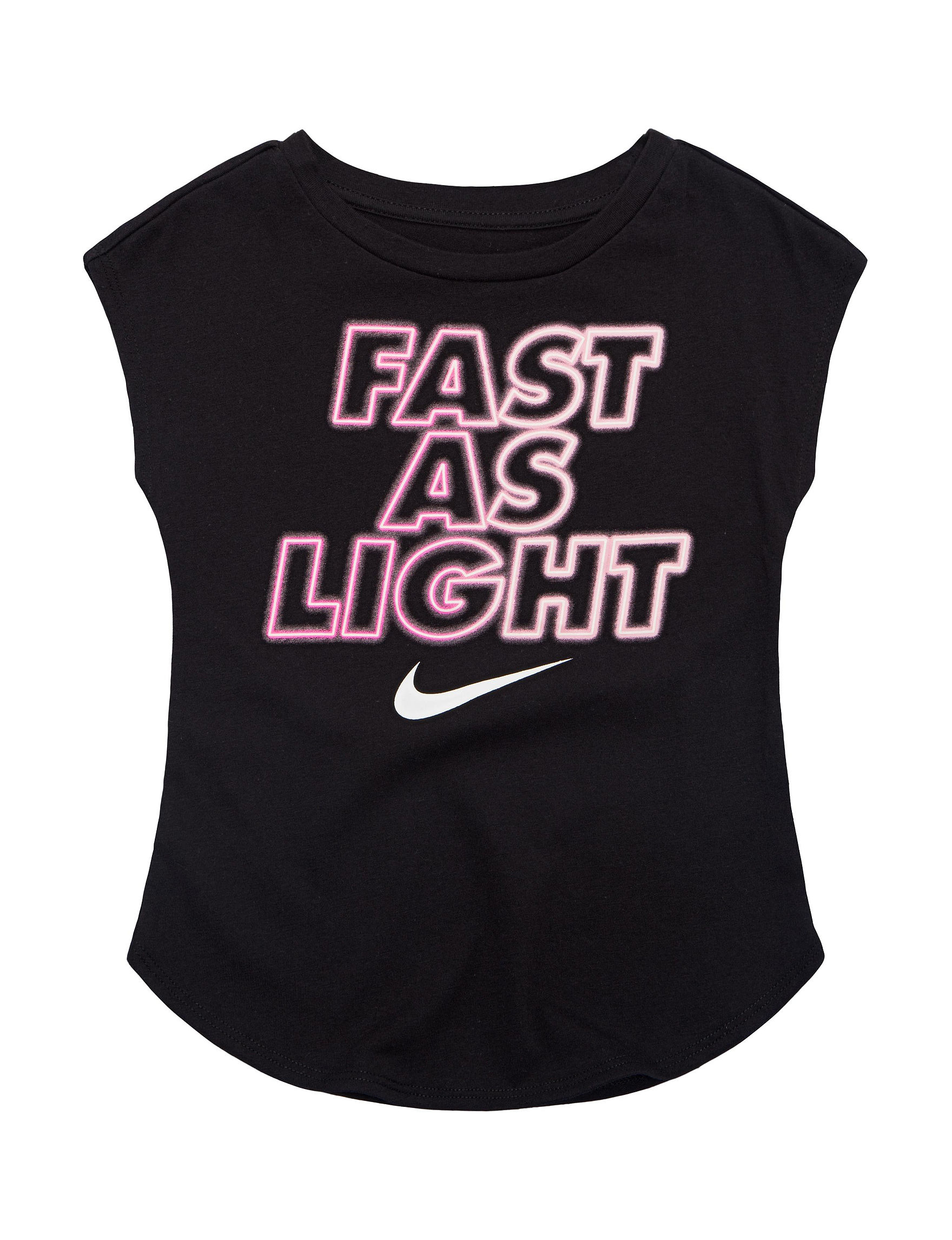 amp; Stores As Nike Fast T Girls 4 6x Light Stage Toddlers Shirt rPYZrqx