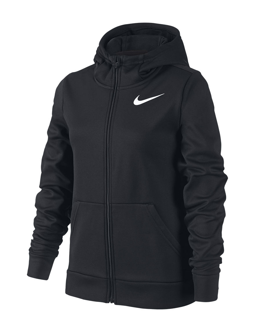 Nike Black / White Fleece & Soft Shell Jackets