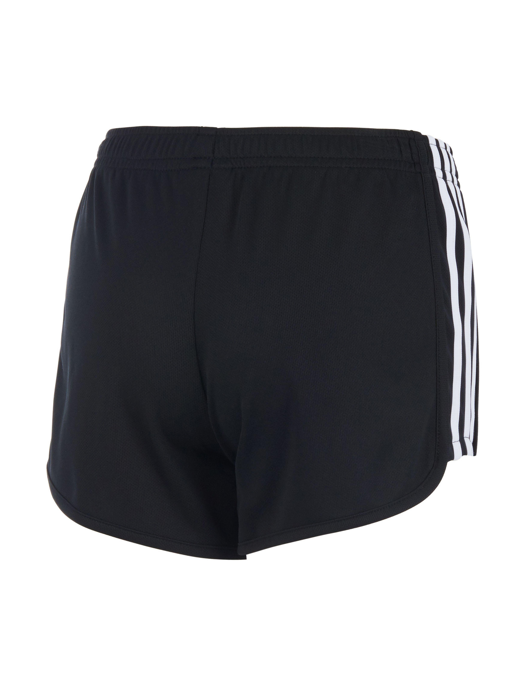 eb9f4f1376b adidas Signature 3-Stripe Mesh Shorts - Girls 7-16