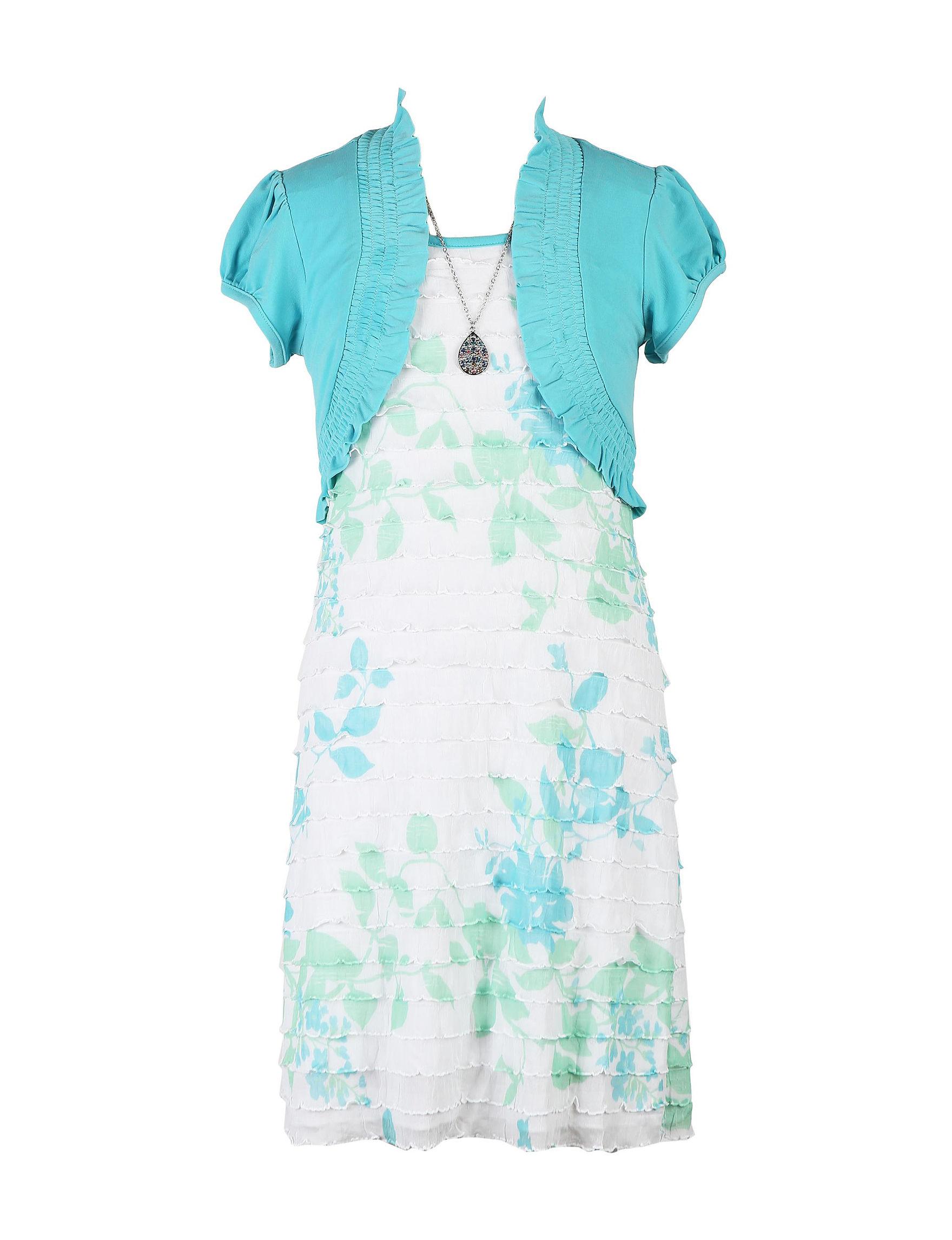 82e792c9a1b5 Speechless 2-pc. Lace Floral Dress   Shrug Set - Girls Plus
