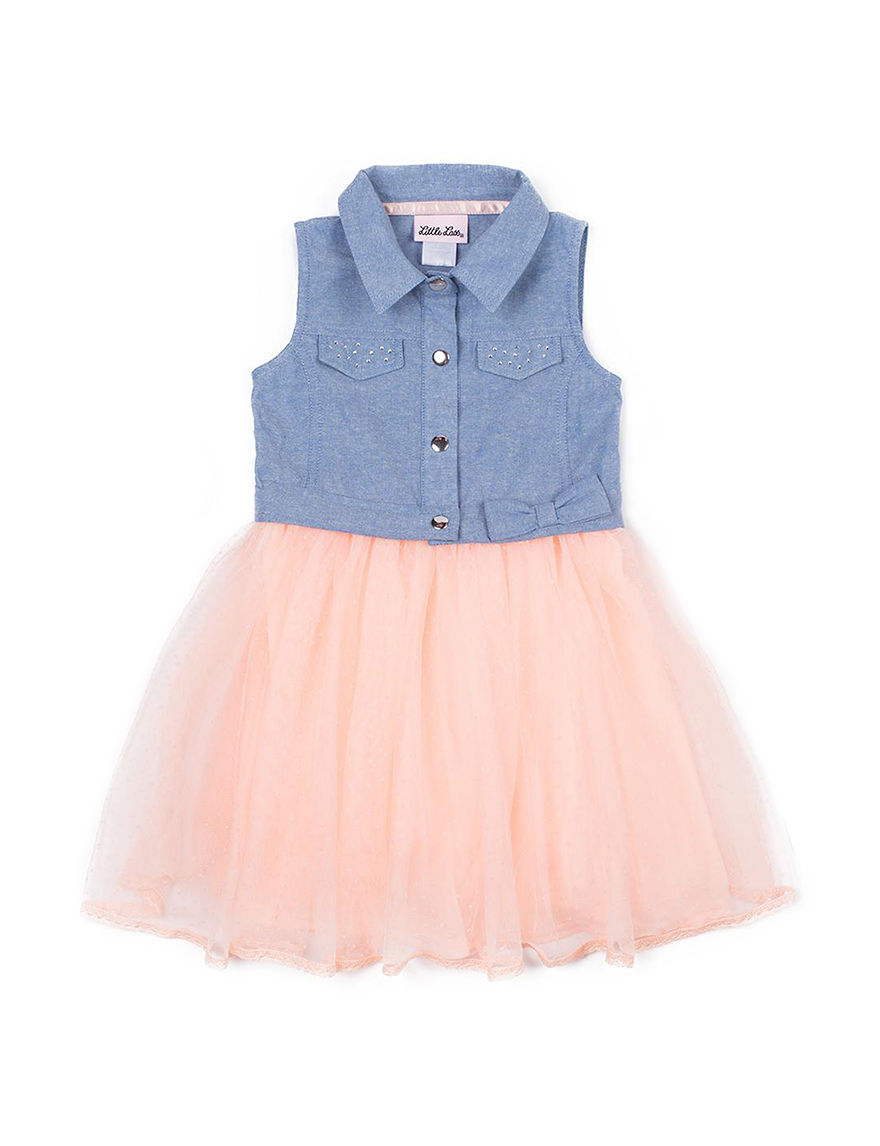 Little Lass Denim / Pink