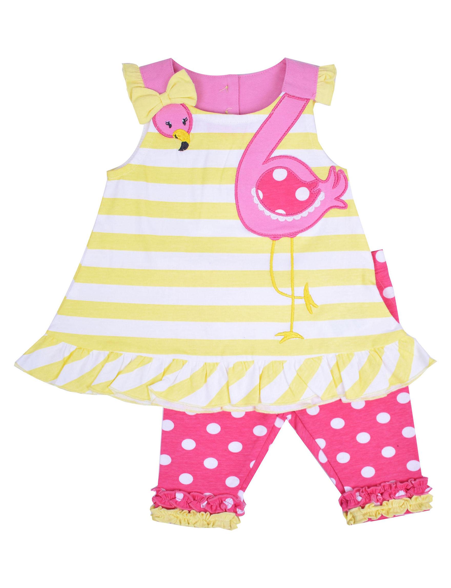 Nannette Yellow / Pink
