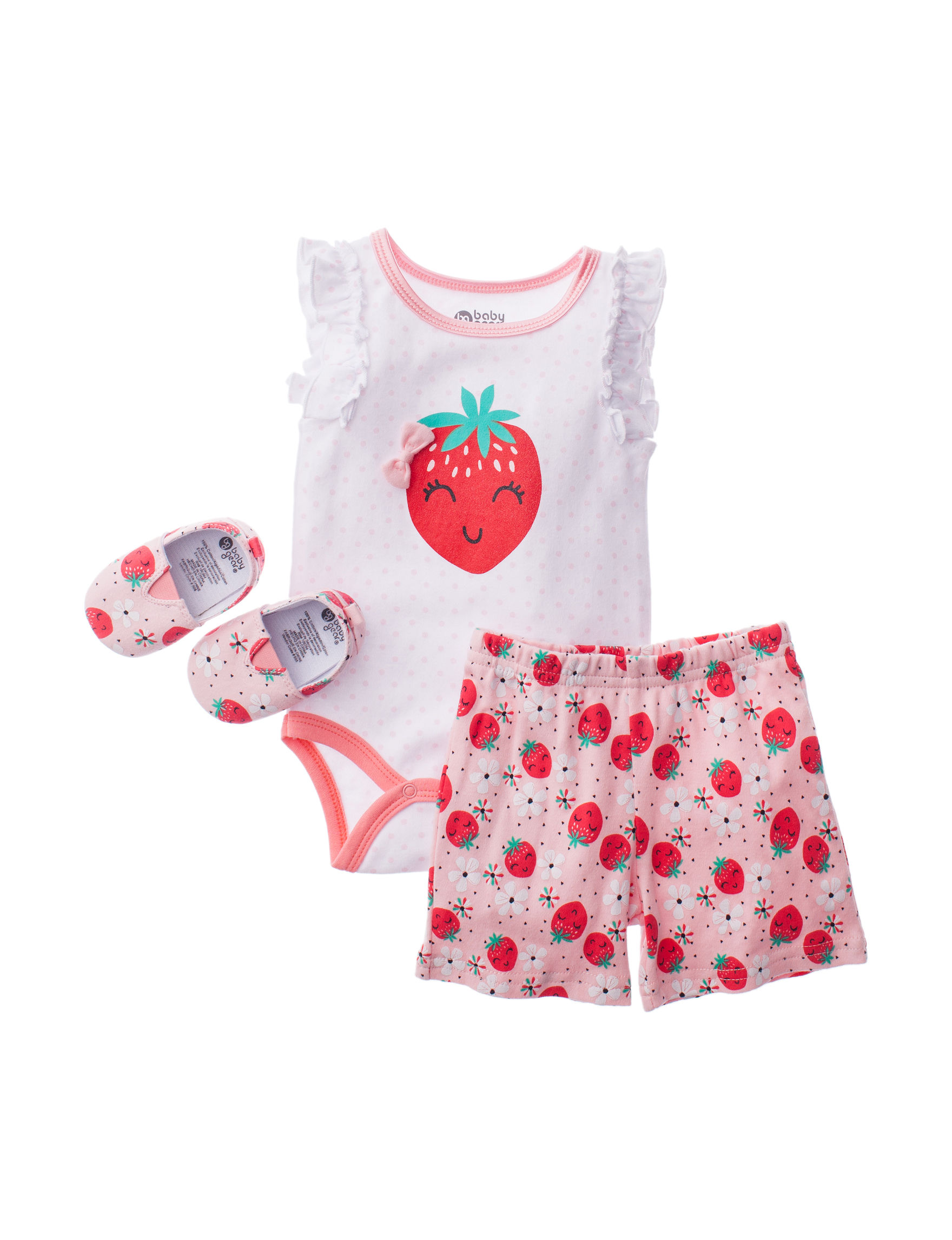 Baby Gear White / Red