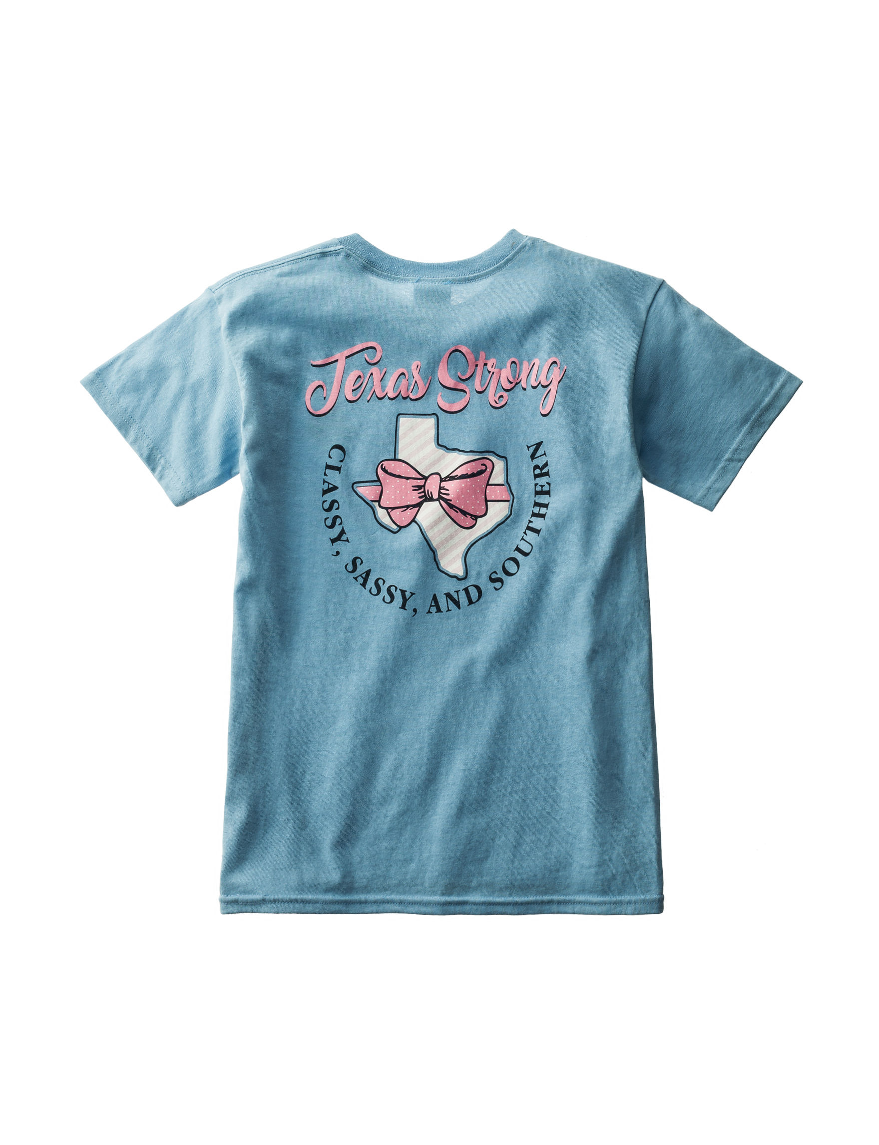 Soffe Sky Blue Tees & Tanks