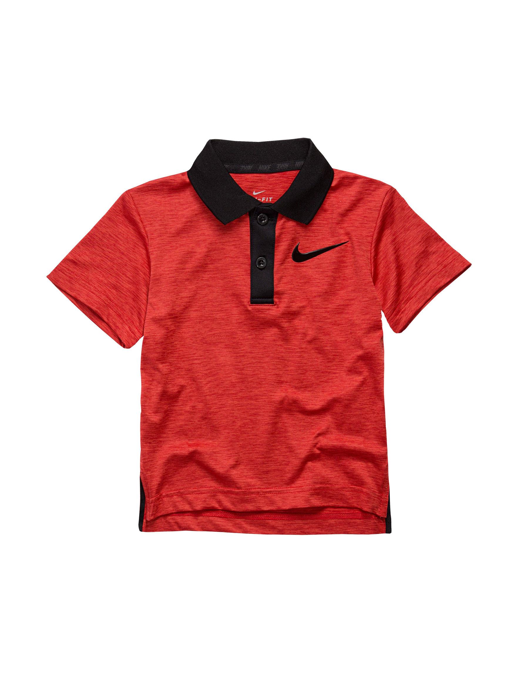 Nike Red Tees & Tanks