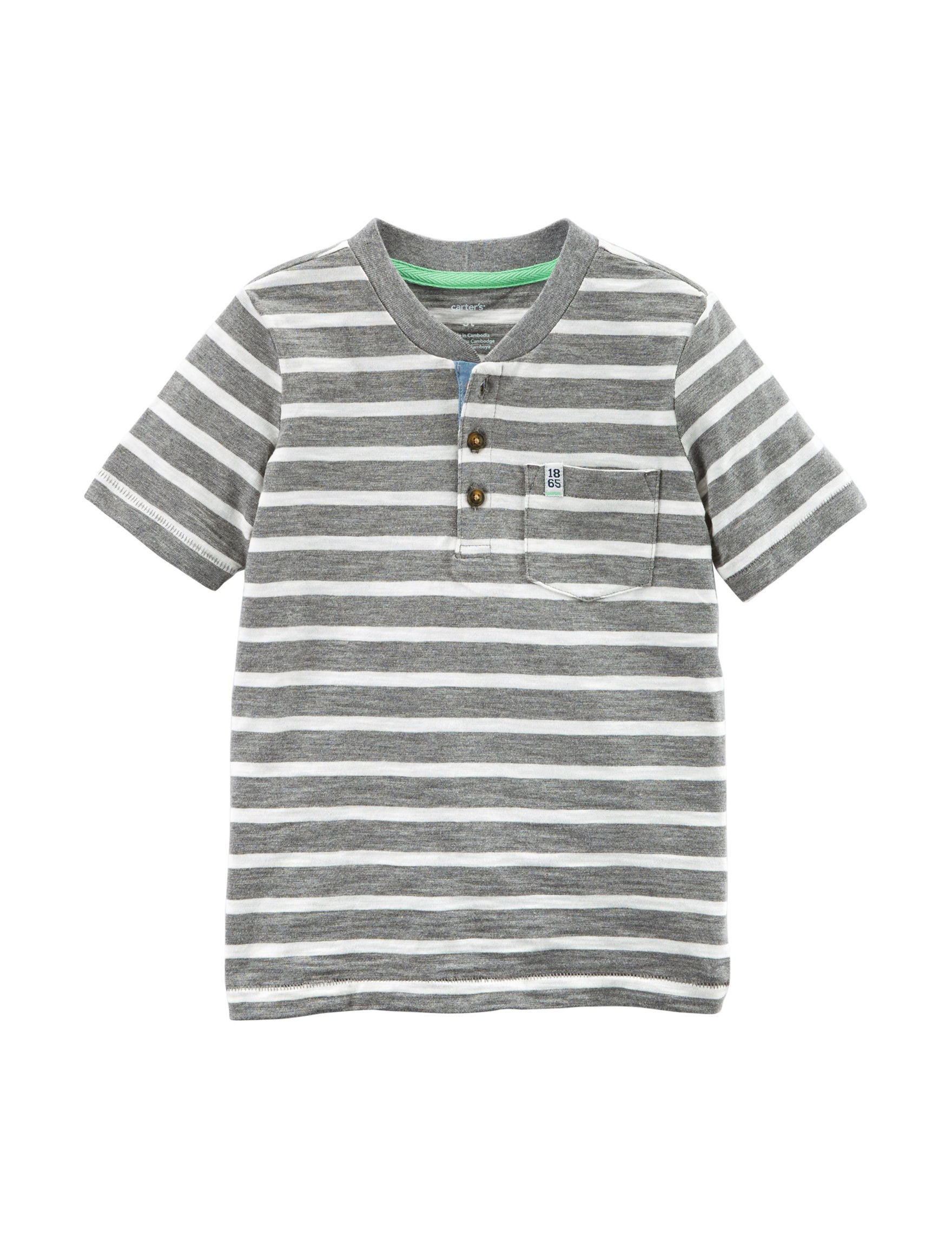 Carter's Grey Stripe