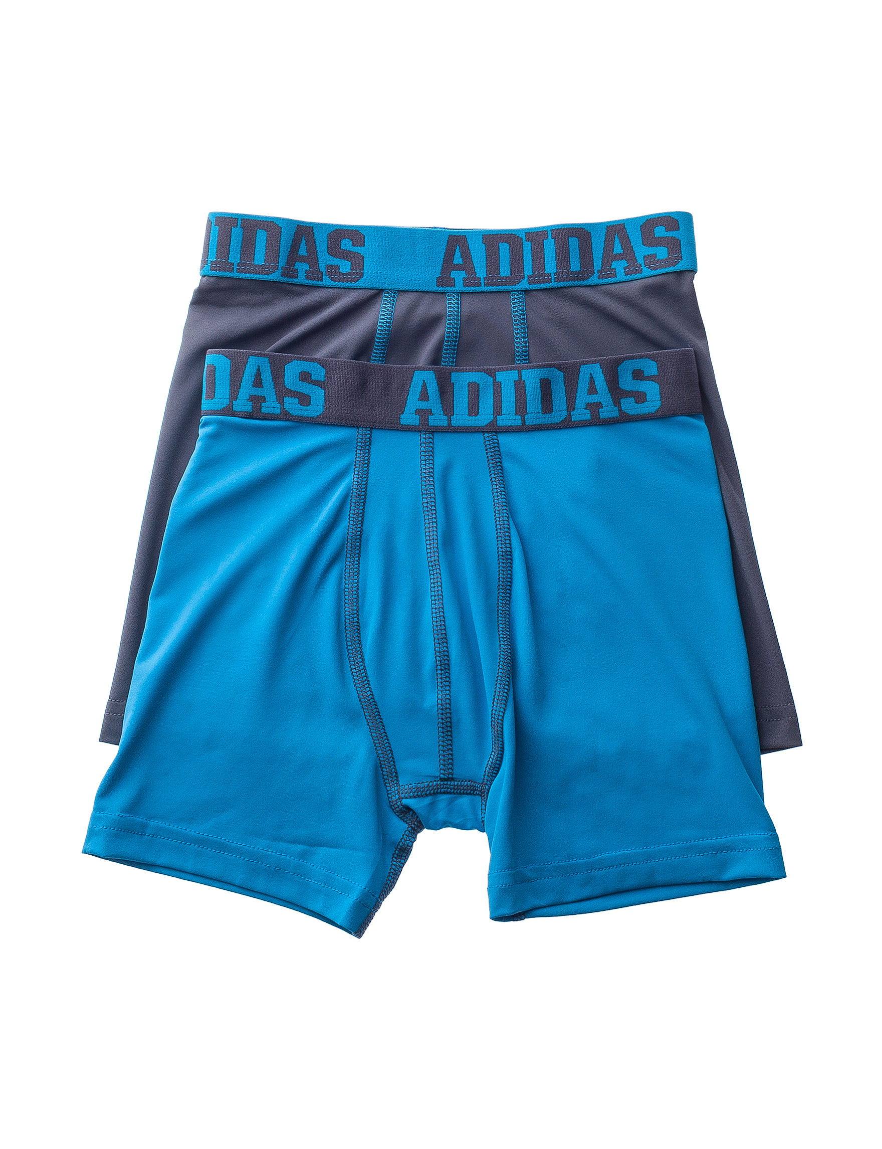 Adidas Grey / Blue Boxer Briefs
