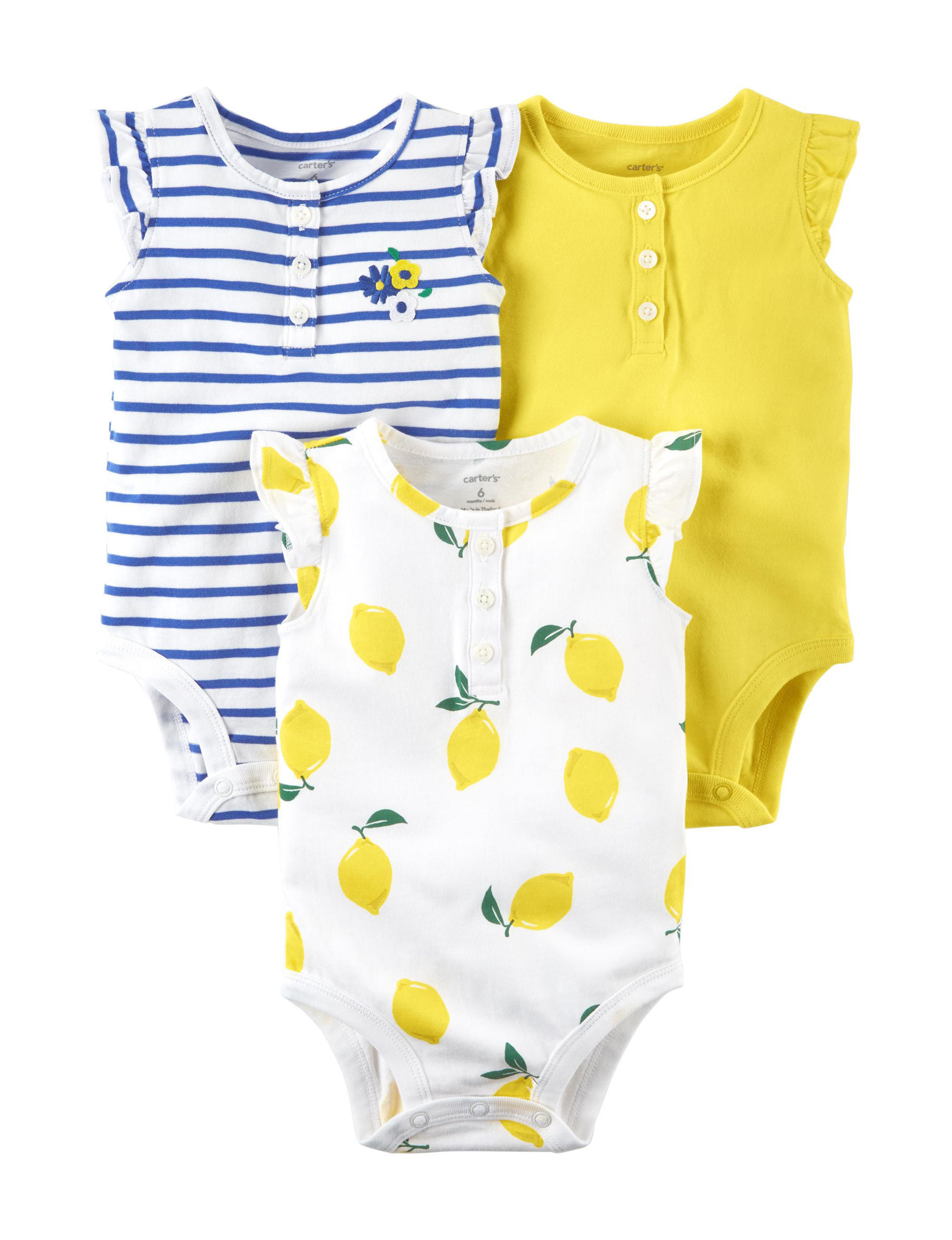 Carter's Yellow / Blue / White