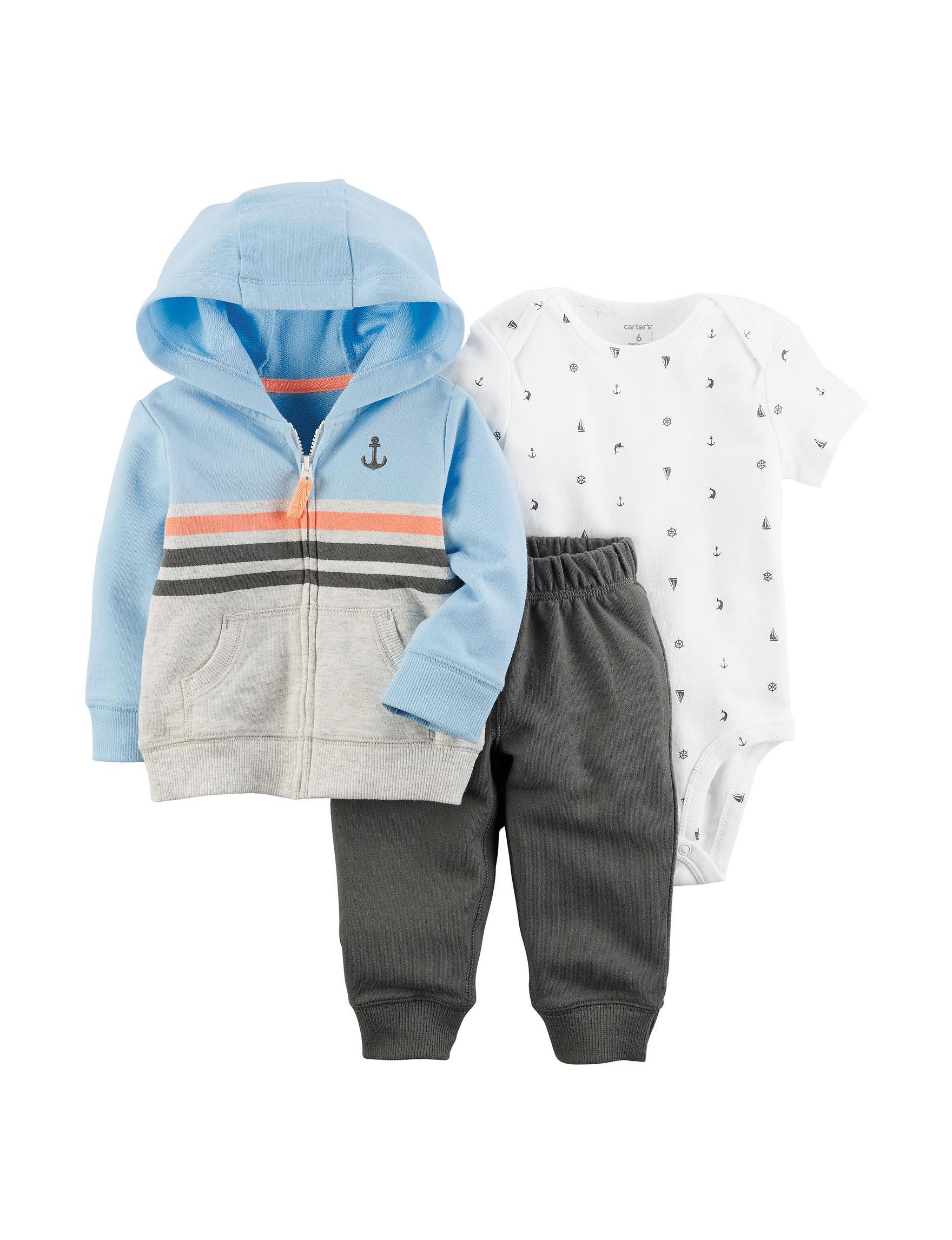 Carter's Grey Multi