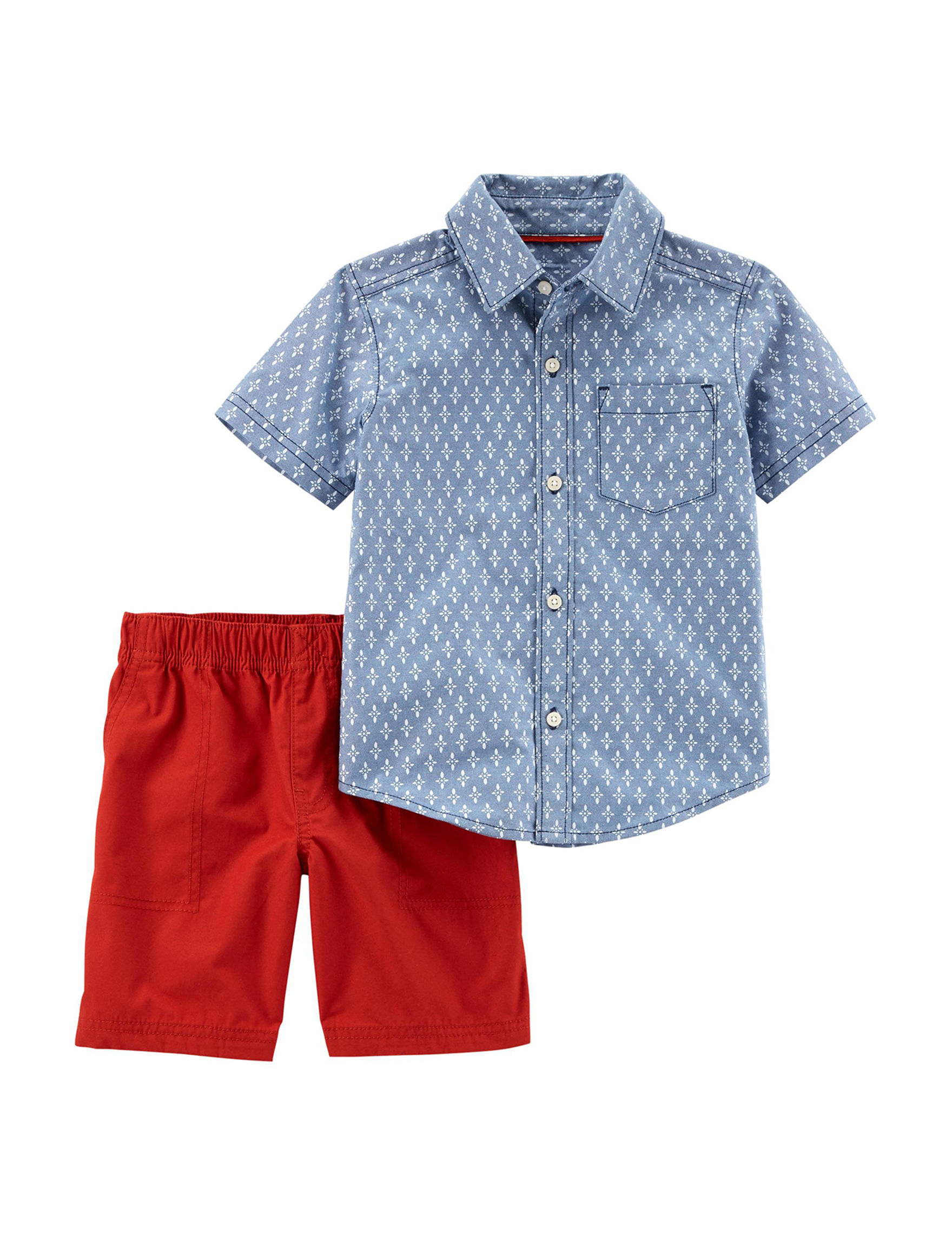 Carter's Blue / White / Red