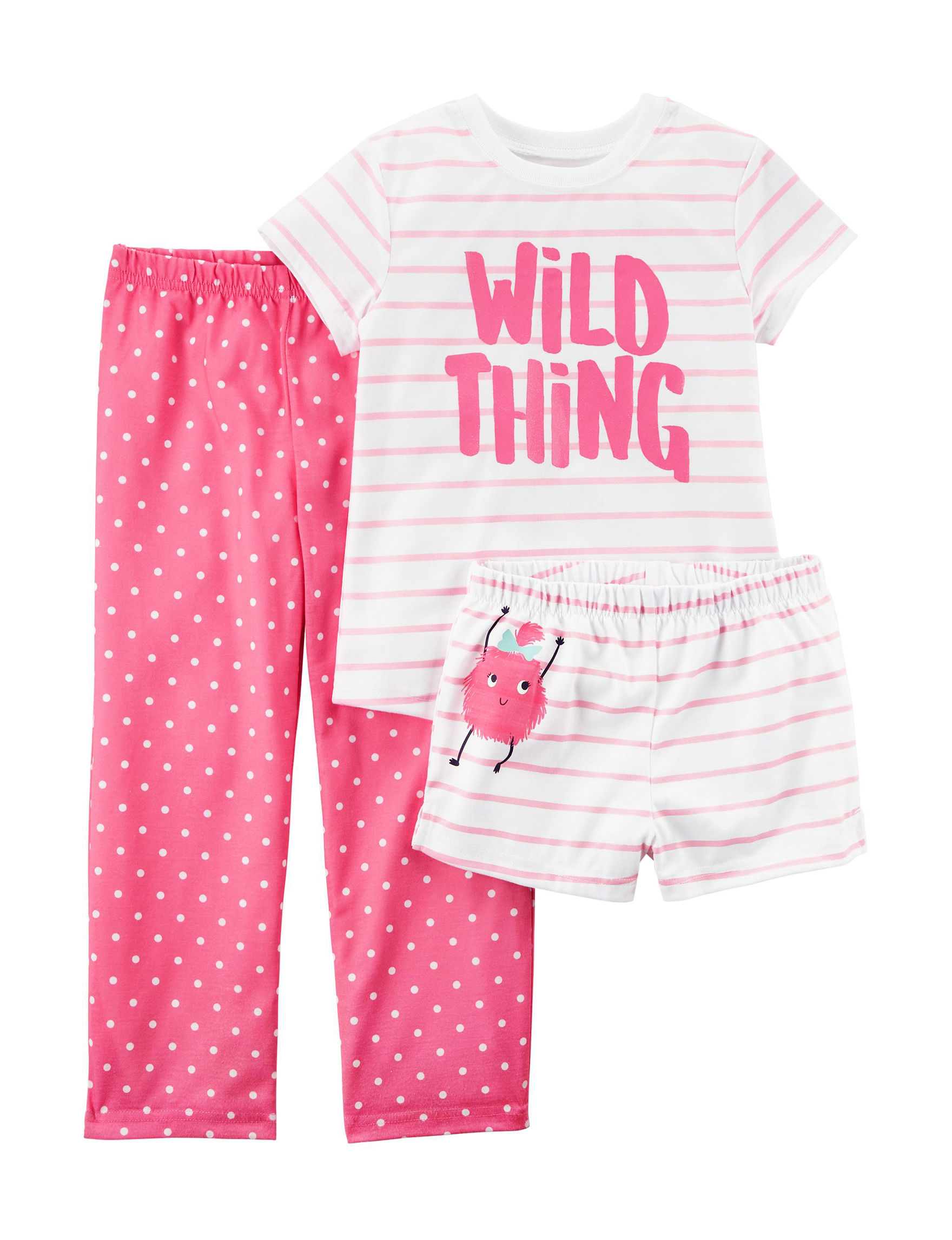 Carter's Pink Pajama Sets