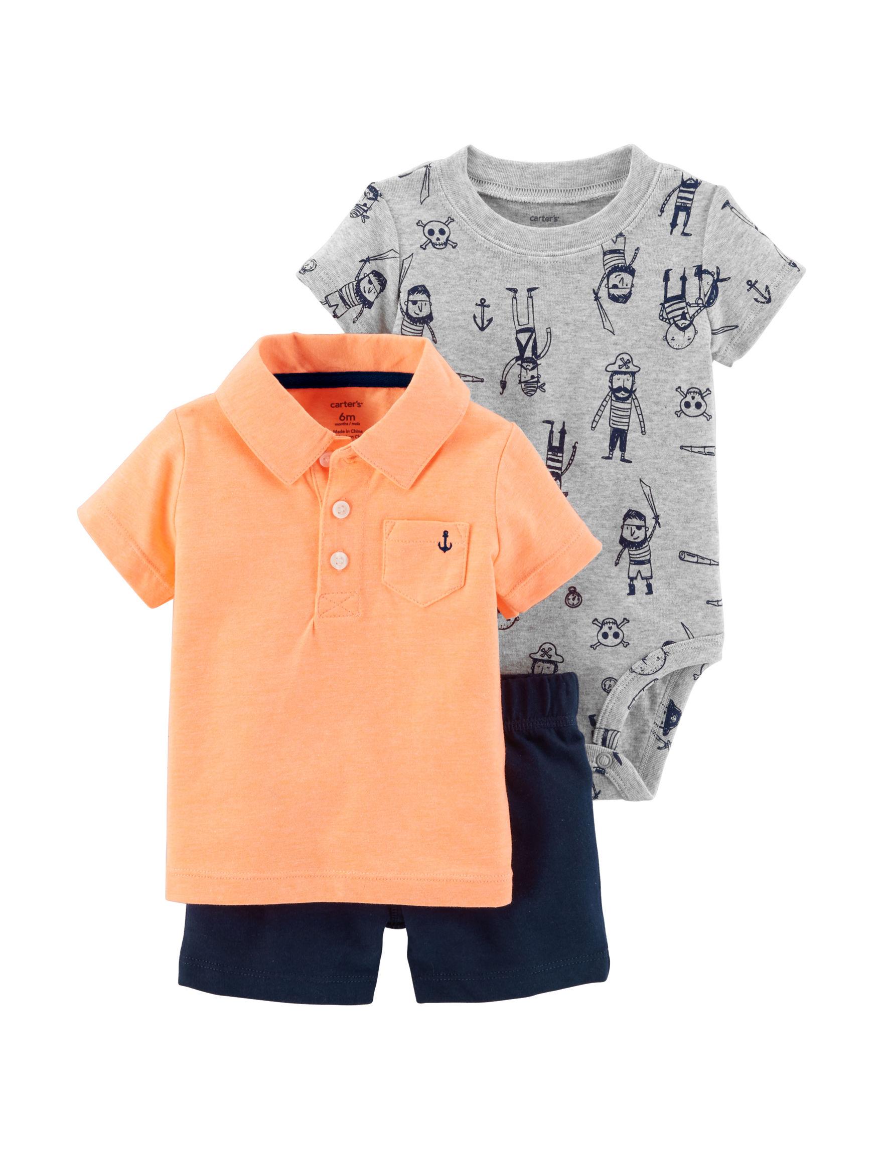 Carter's Orange Multi