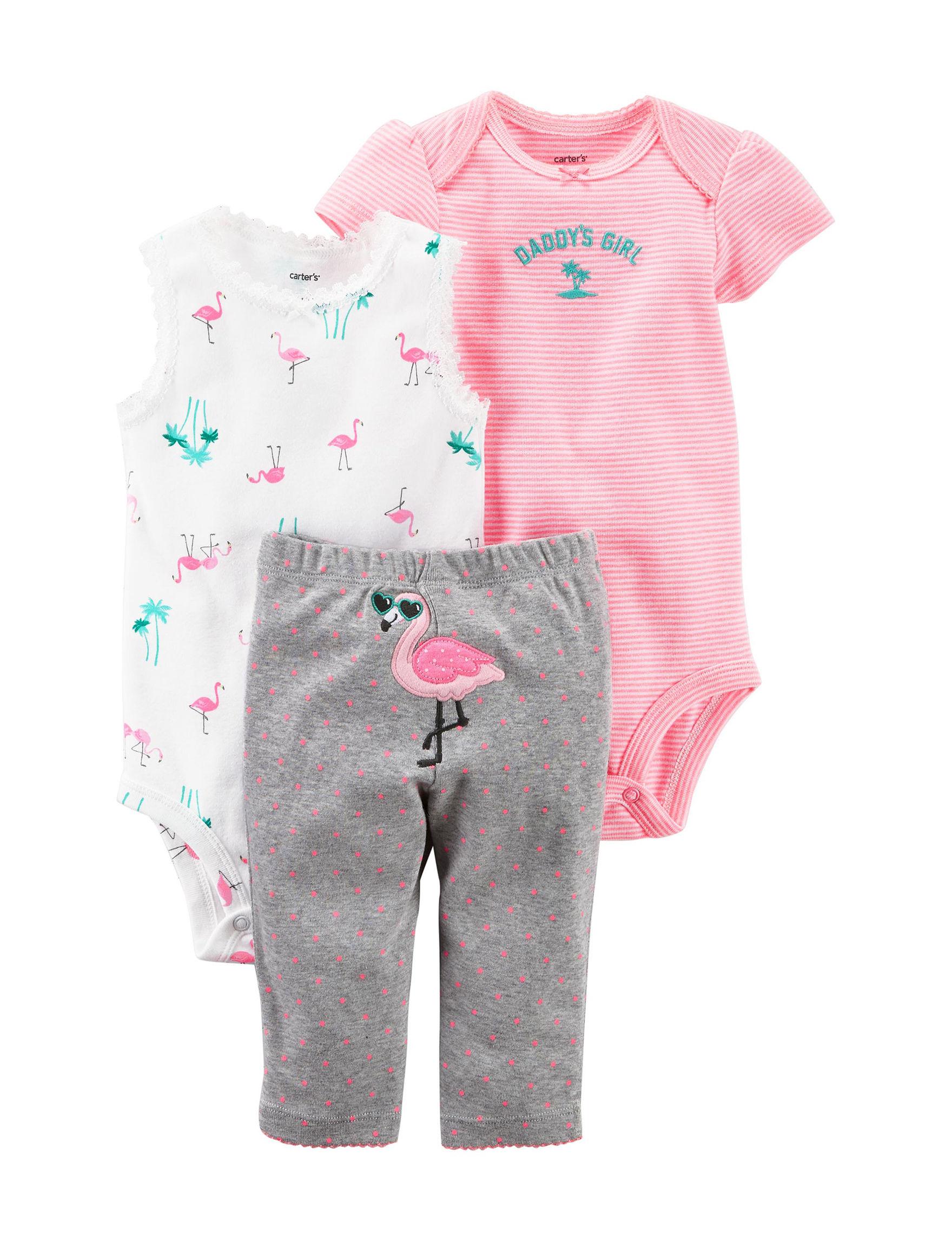 Carter's Pink / Grey