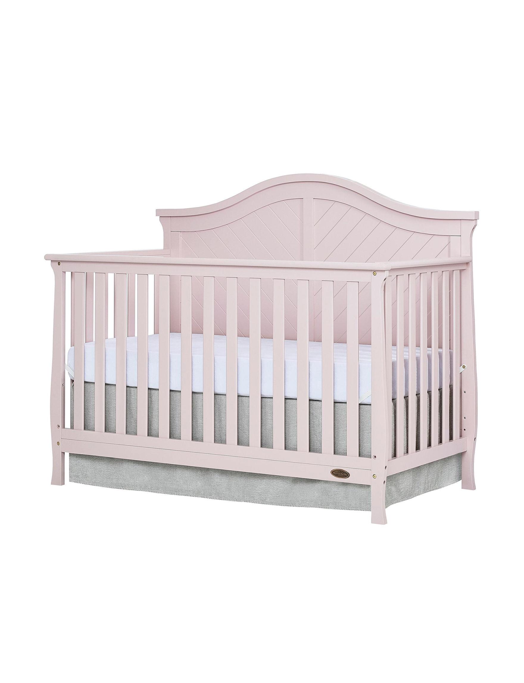 Dream On Me Pink Cribs Bedroom Furniture