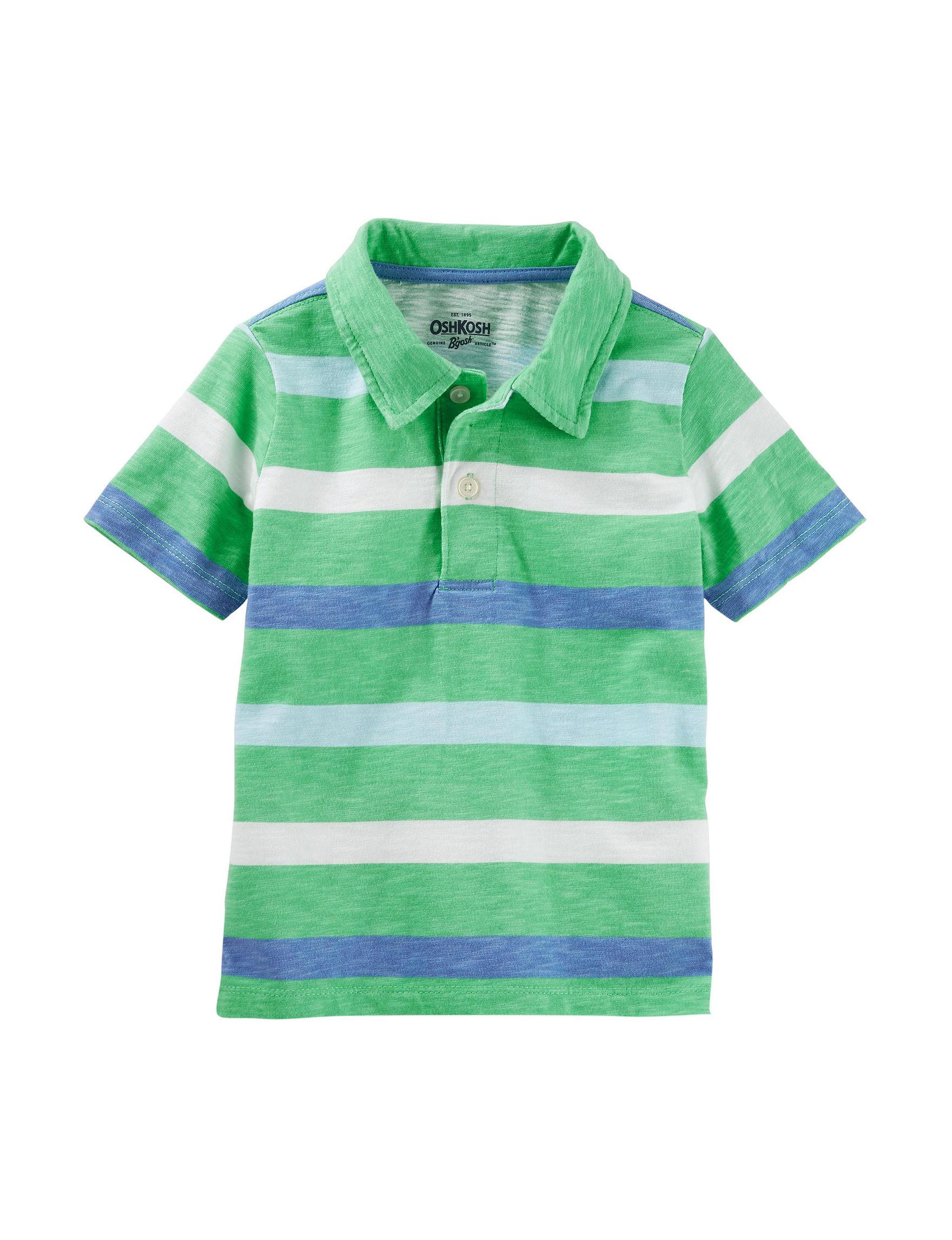 OshKosh BGosh Boys 4-8 Jersey Short Sleeve Polo