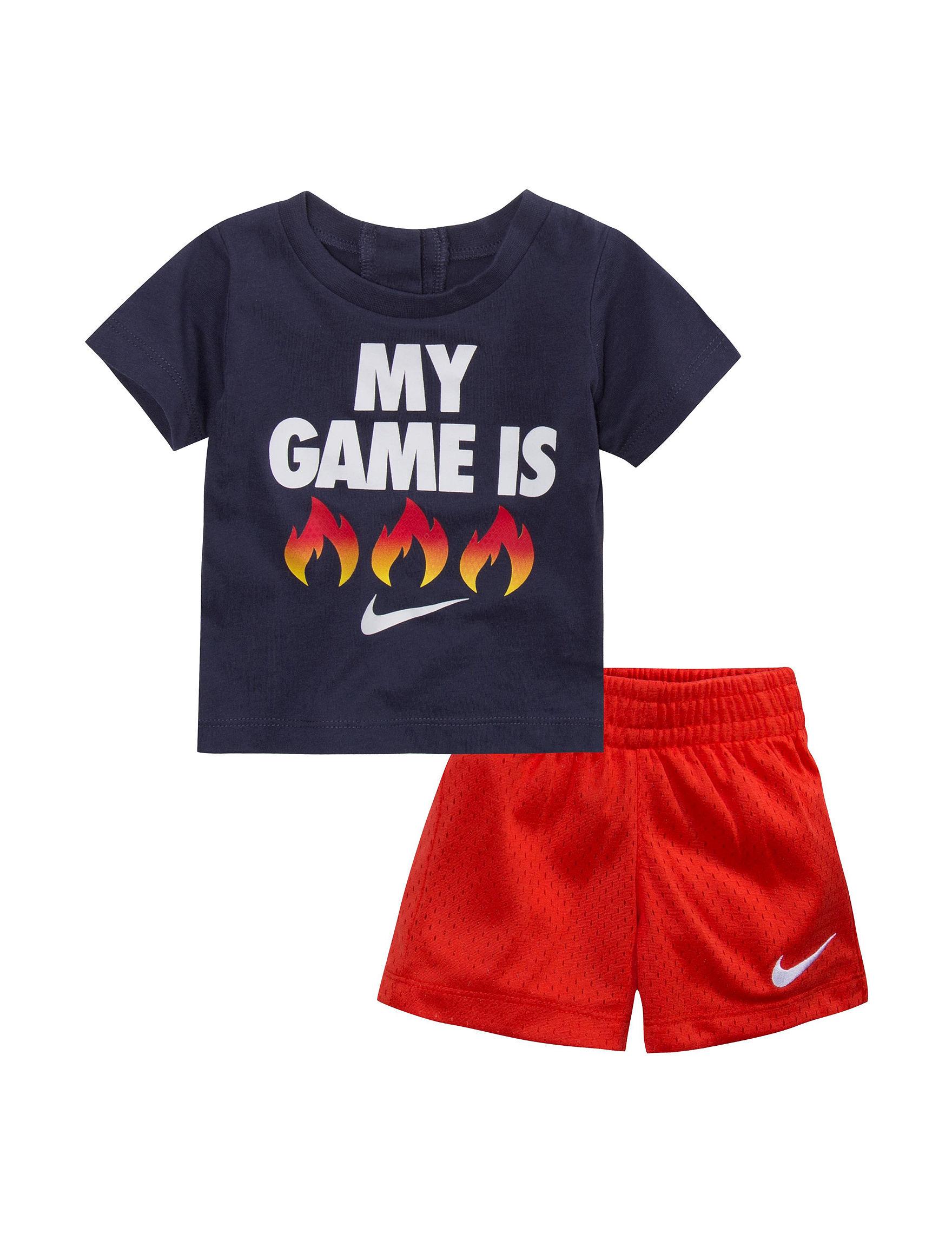 Nike Red / Navy