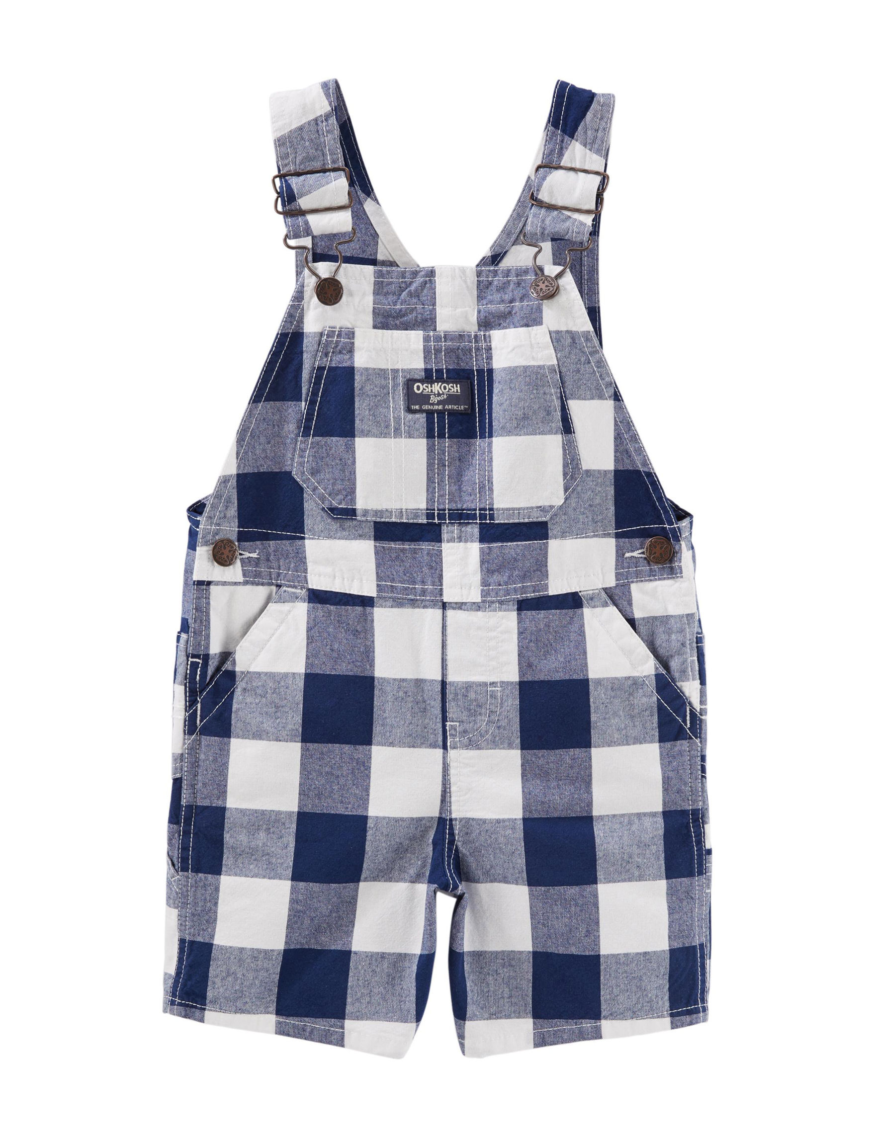 Oshkosh B'Gosh Blue Plaid