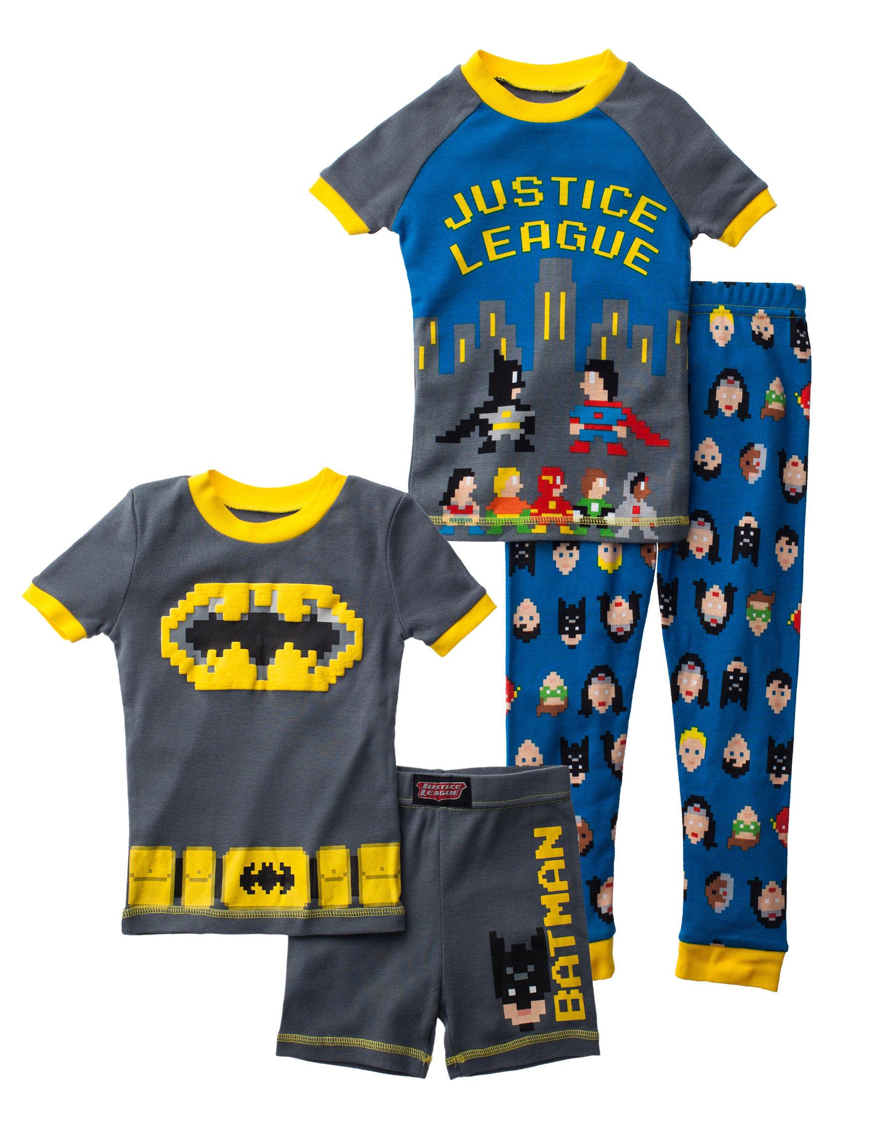 Licensed Grey / Multi Pajama Sets
