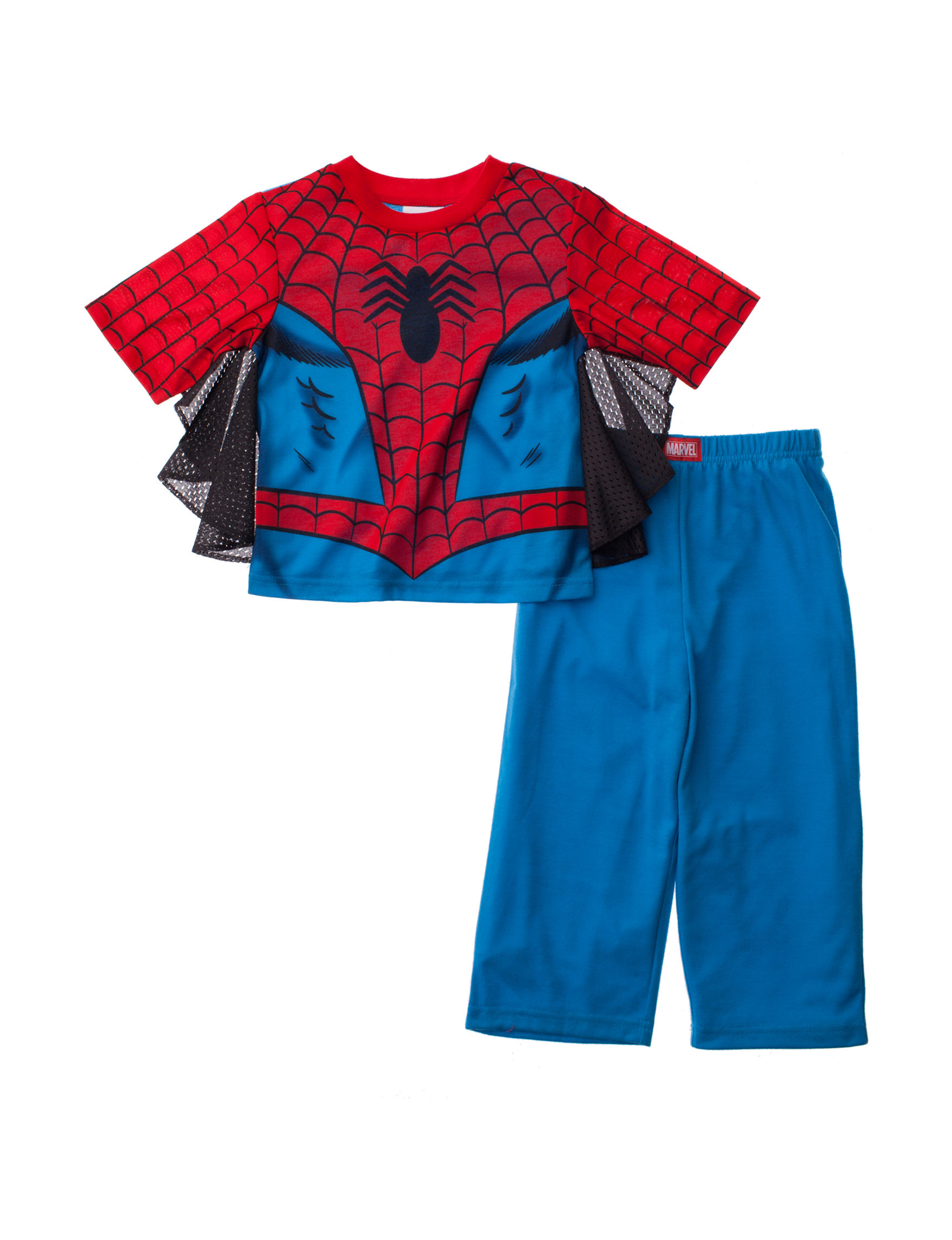 Licensed Blue/ Red Pajama Sets