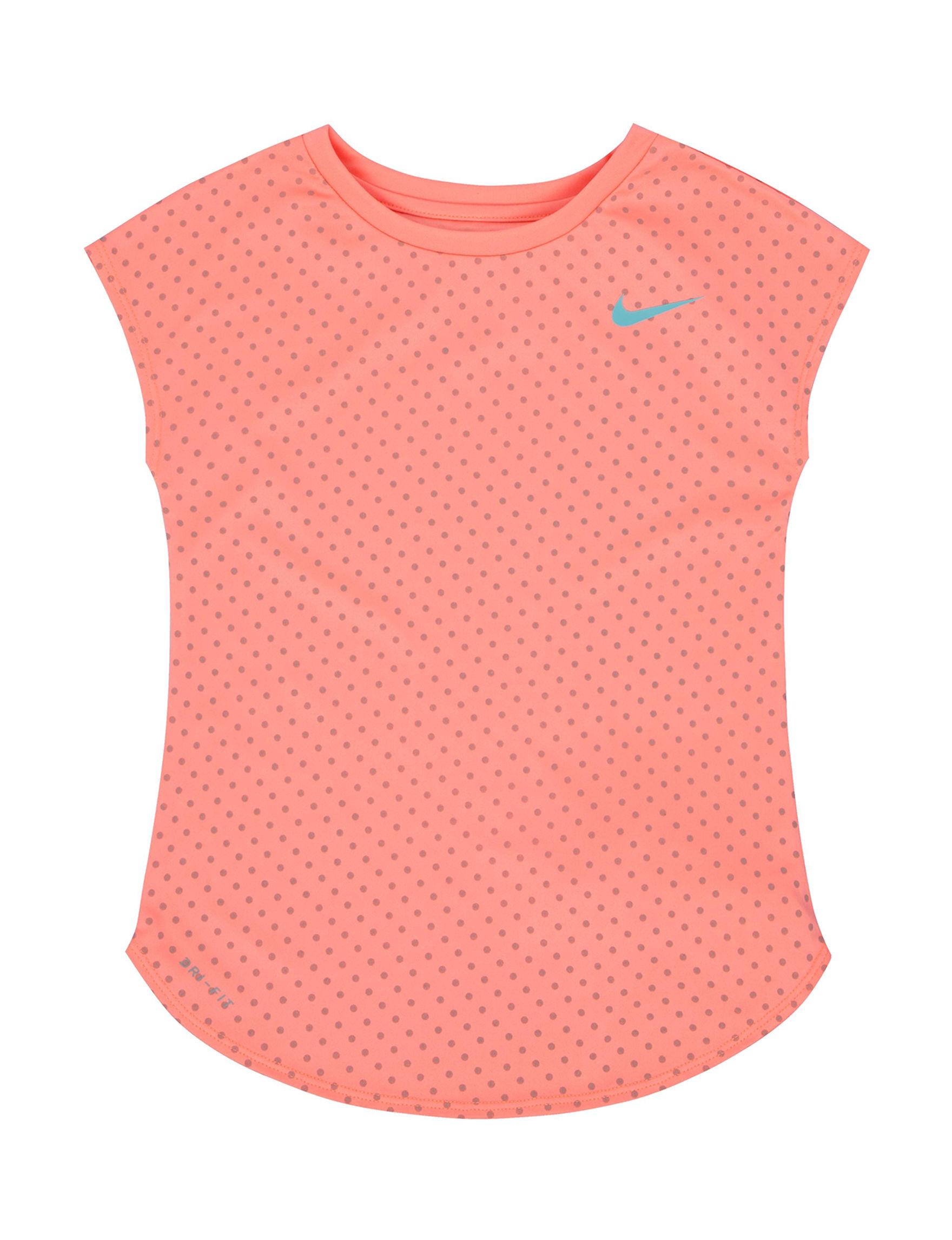 Nike Coral Tees & Tanks
