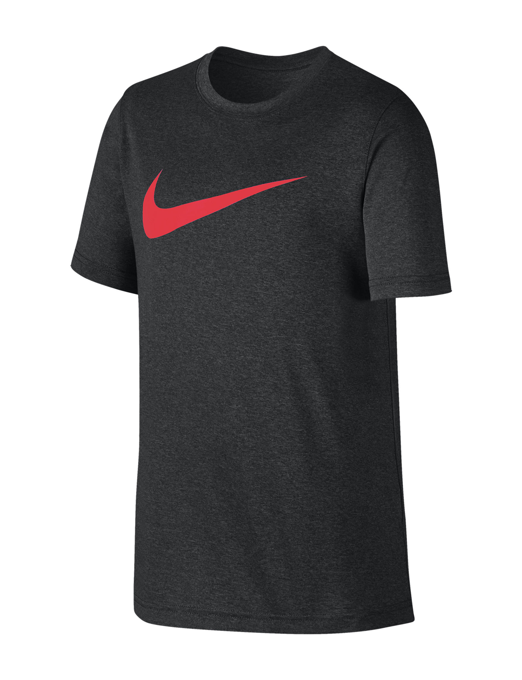 Nike Black / Red Tees & Tanks
