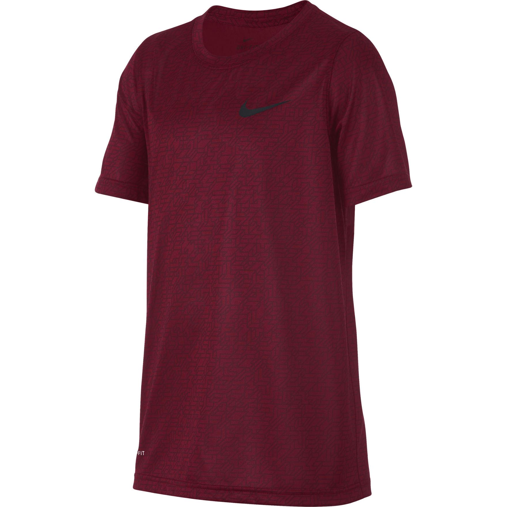 Nike Burgundy Tees & Tanks