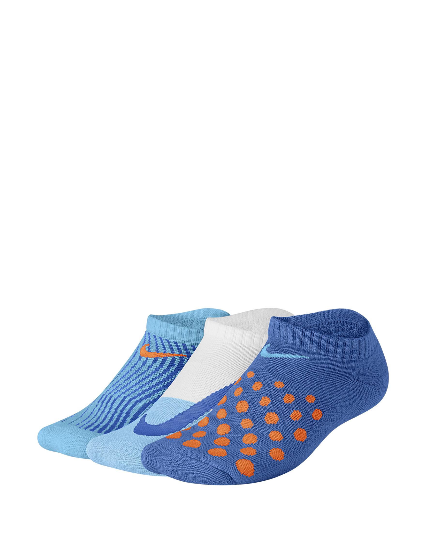 Nike Blue Socks