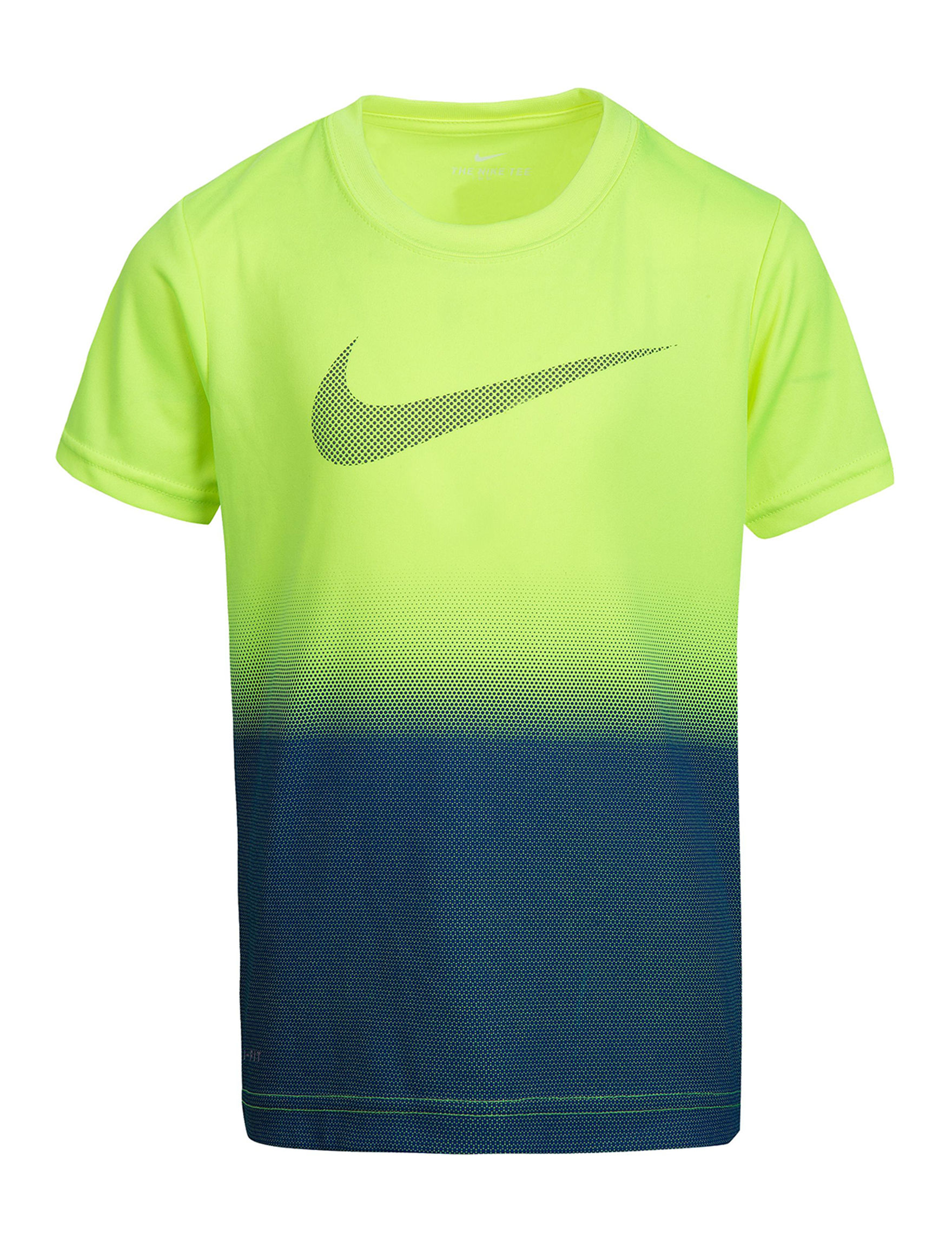 Nike Yellow Tees & Tanks