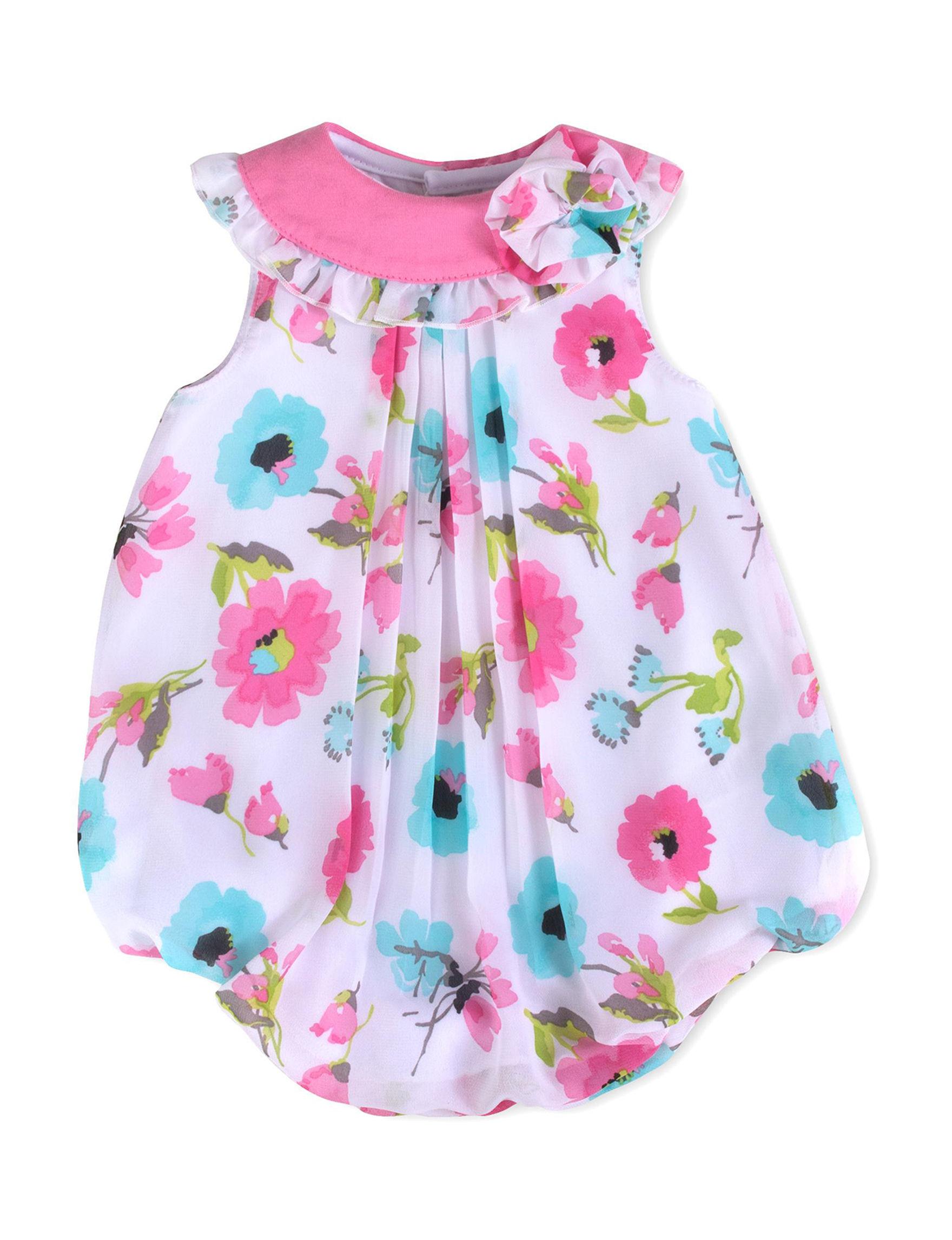 Baby Essentials White / Pink