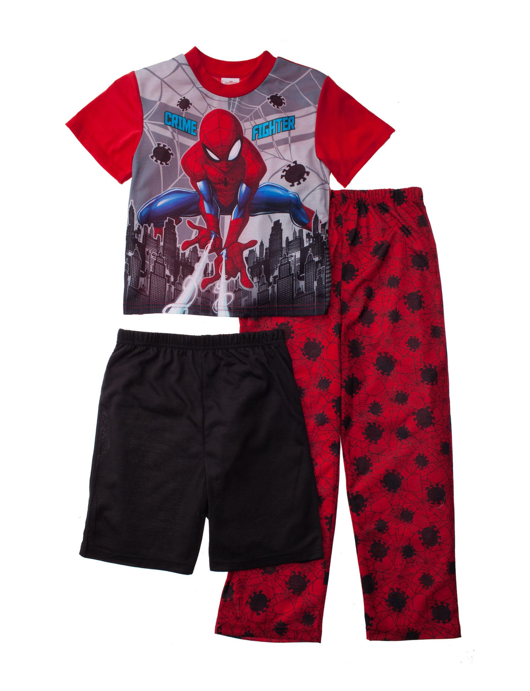 Licensed Red Multi Pajama Sets