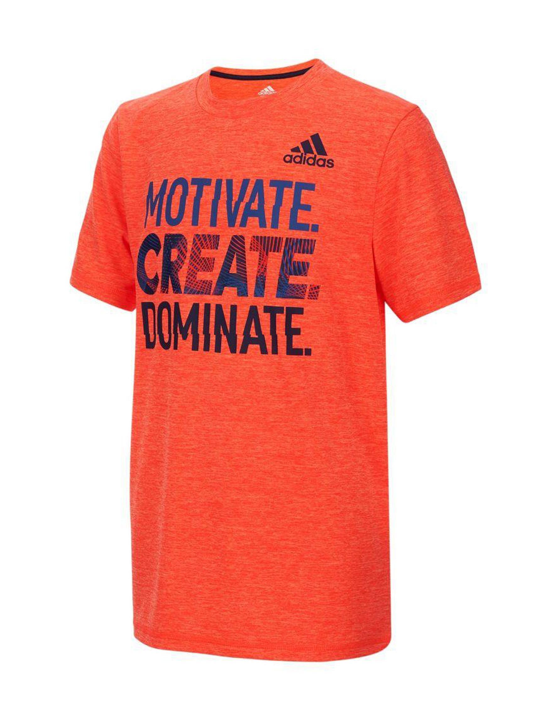 Adidas Solar Red Tees & Tanks