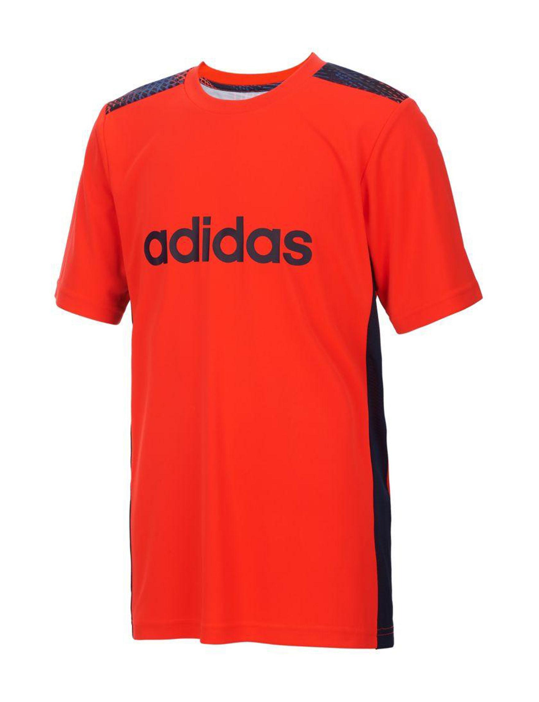 Adidas Solar Red Tees & Tanks