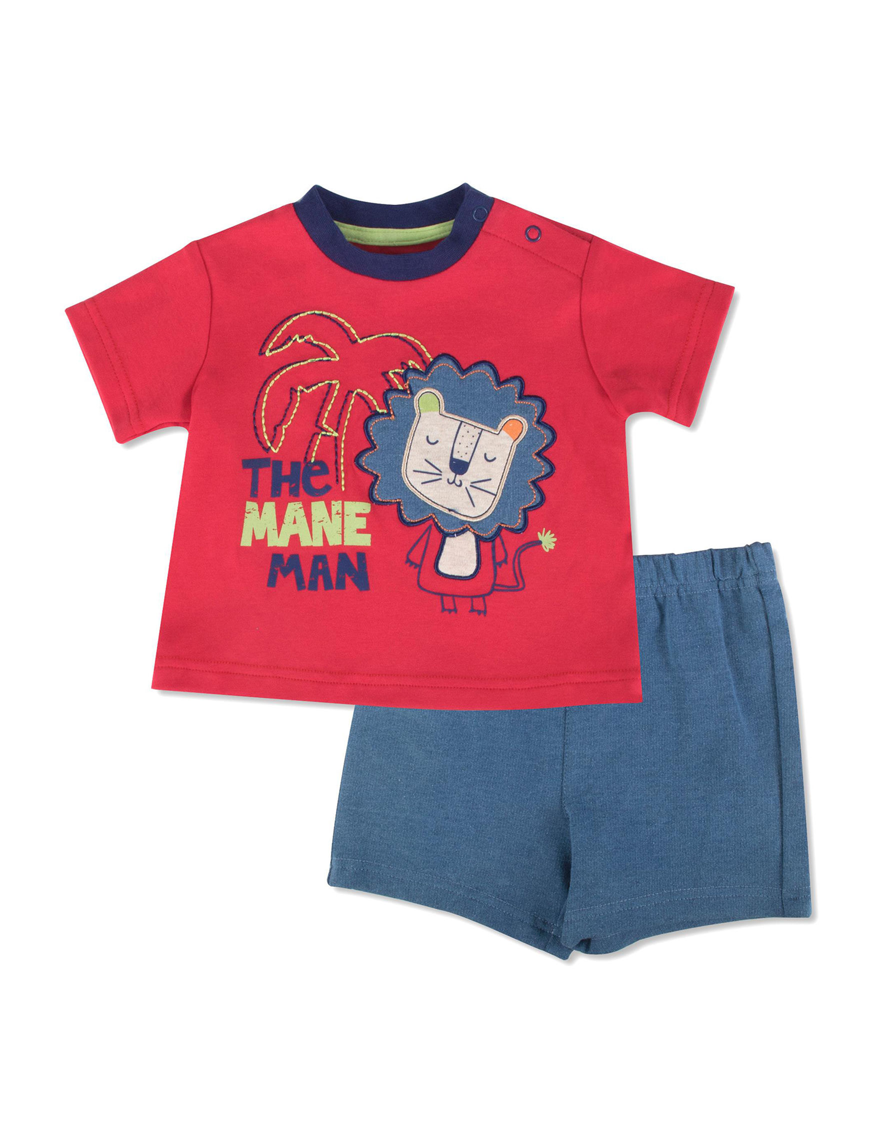 Baby Essentials Blue/ Red
