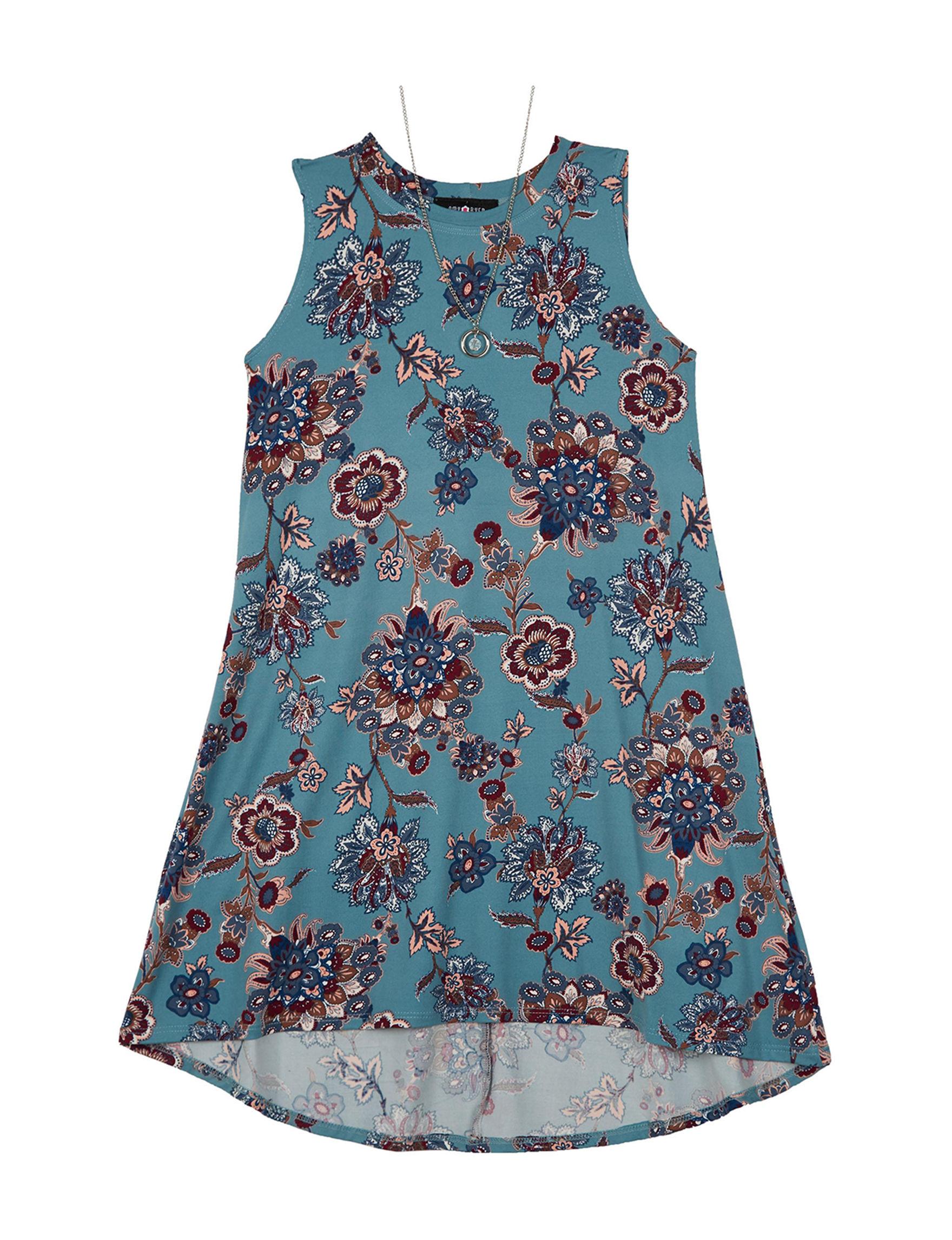 A. Byer Blue Floral