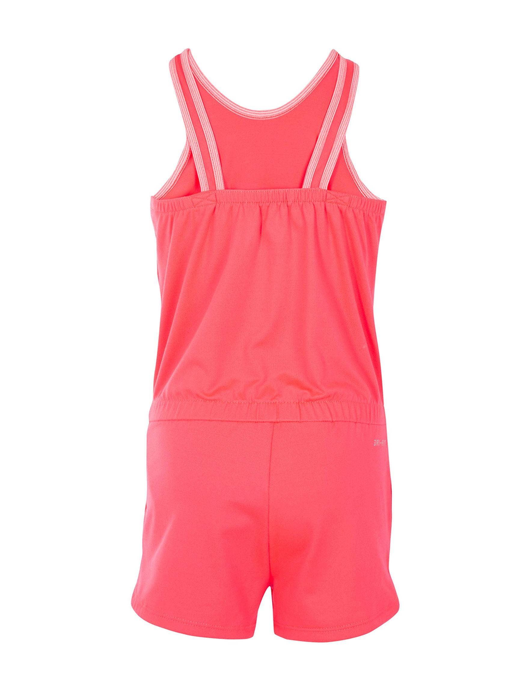 0f986c132dab Nike Dry Swoosh Logo Essentials Romper - Toddlers   Girls 4-6x ...
