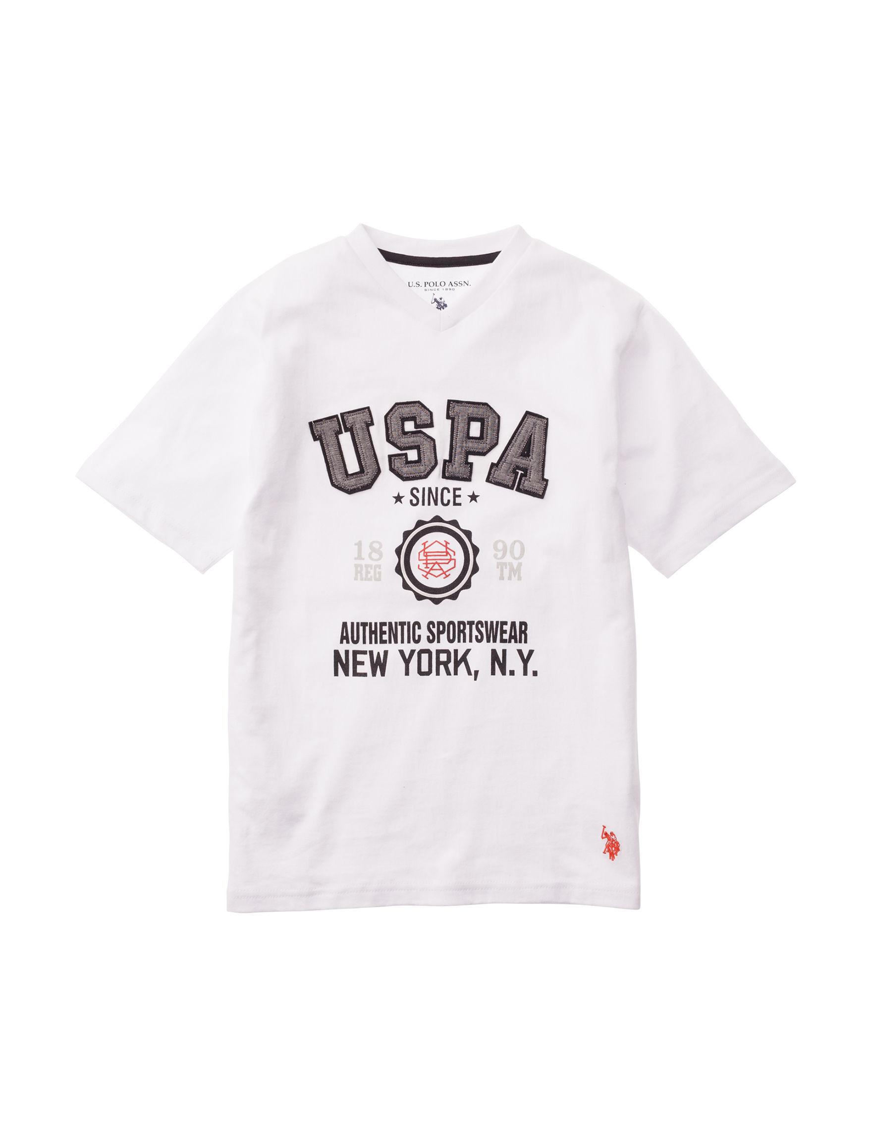 U.S. Polo Assn. White Tees & Tanks