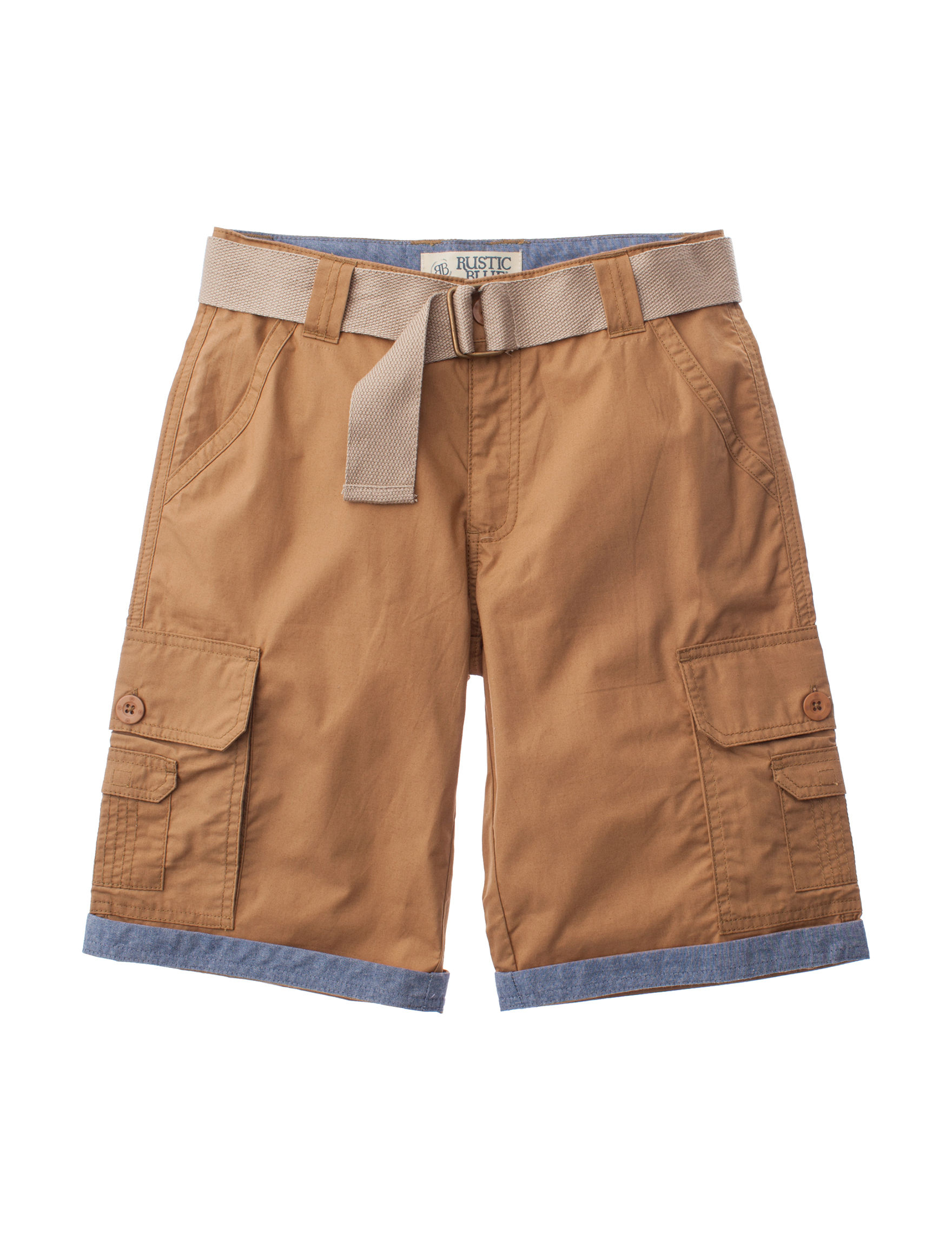 Rustic Blue British Khaki Relaxed