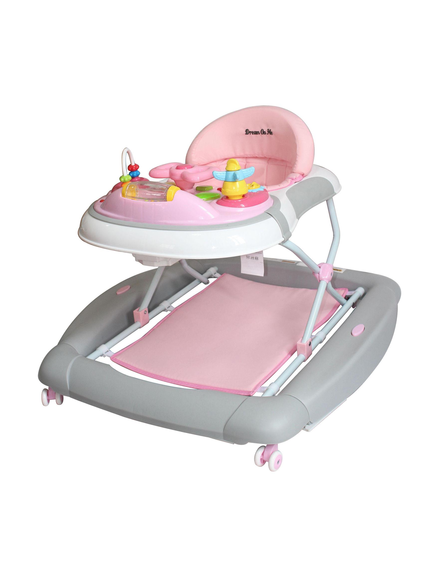 Dream On Me Pink / Grey Swings, Bouncers, & Jumpers