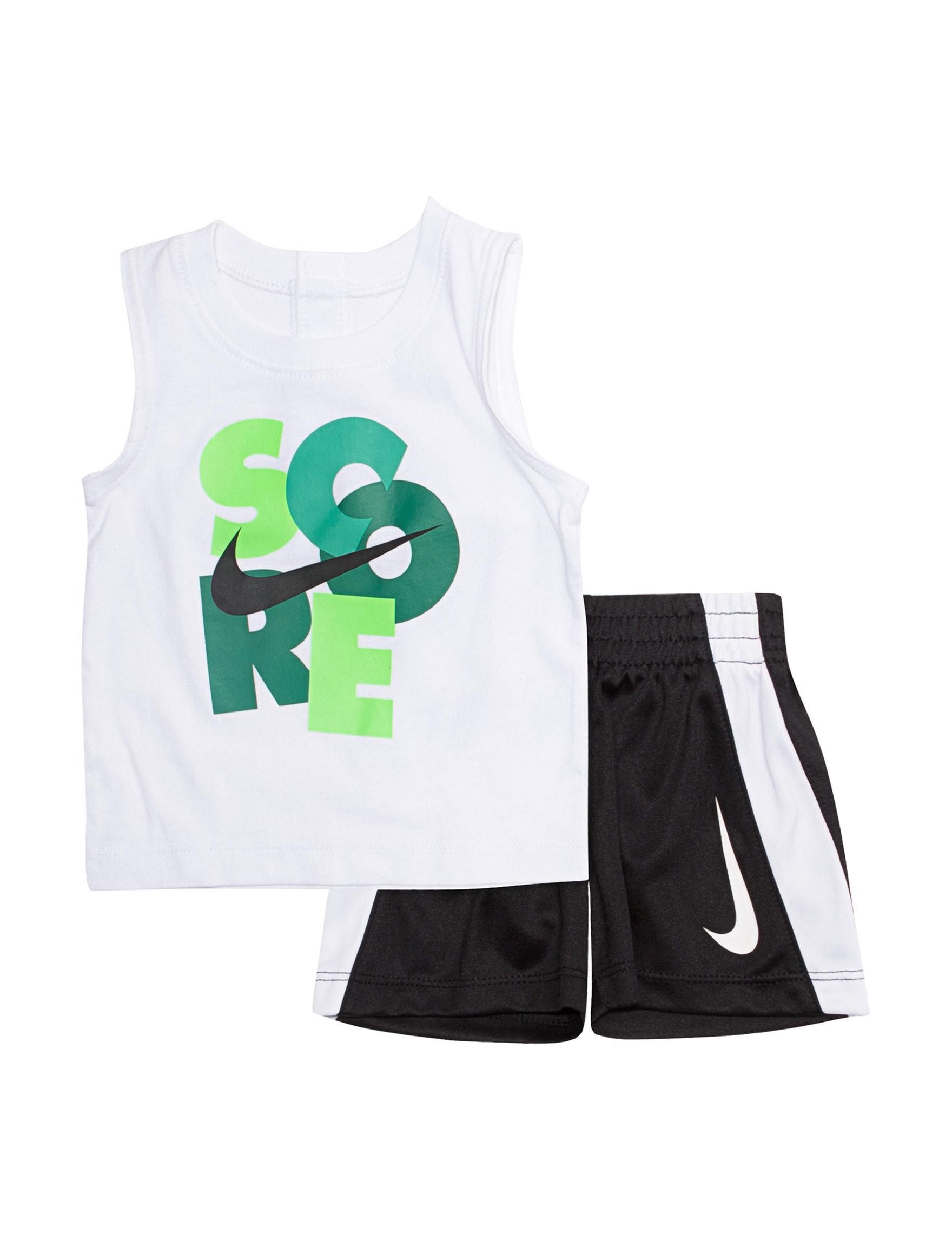 Nike White / Green