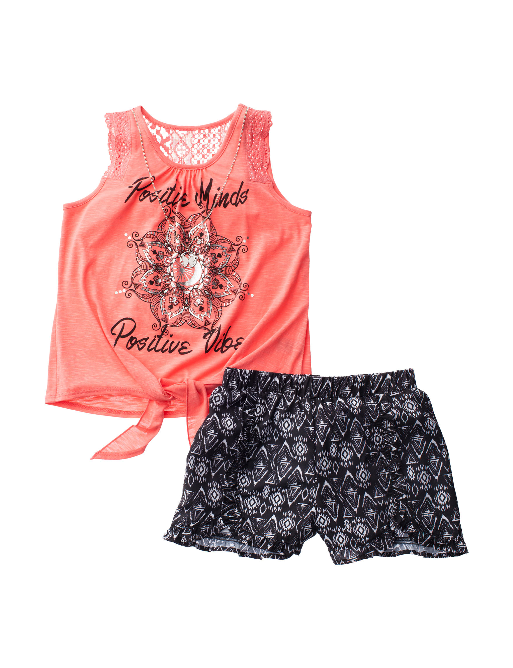 Self Esteem Coral Soft Shorts