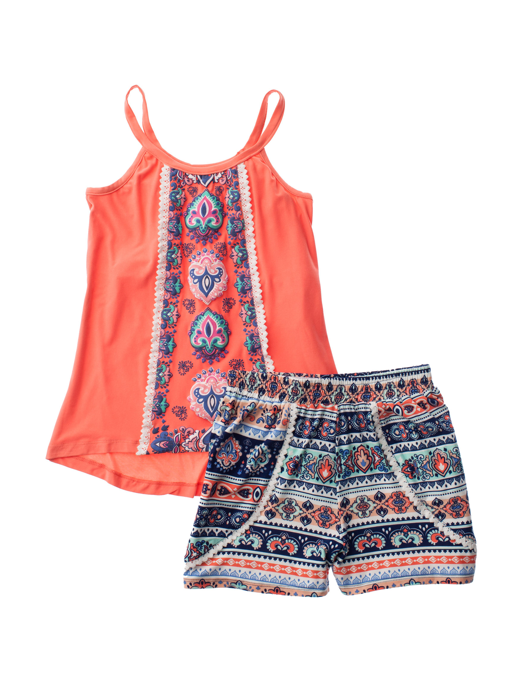 One Step Up Coral / Navy