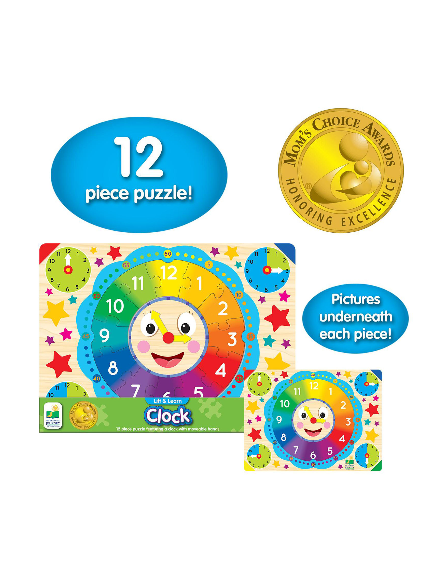 The Learning Journey Blue Multi Puzzles
