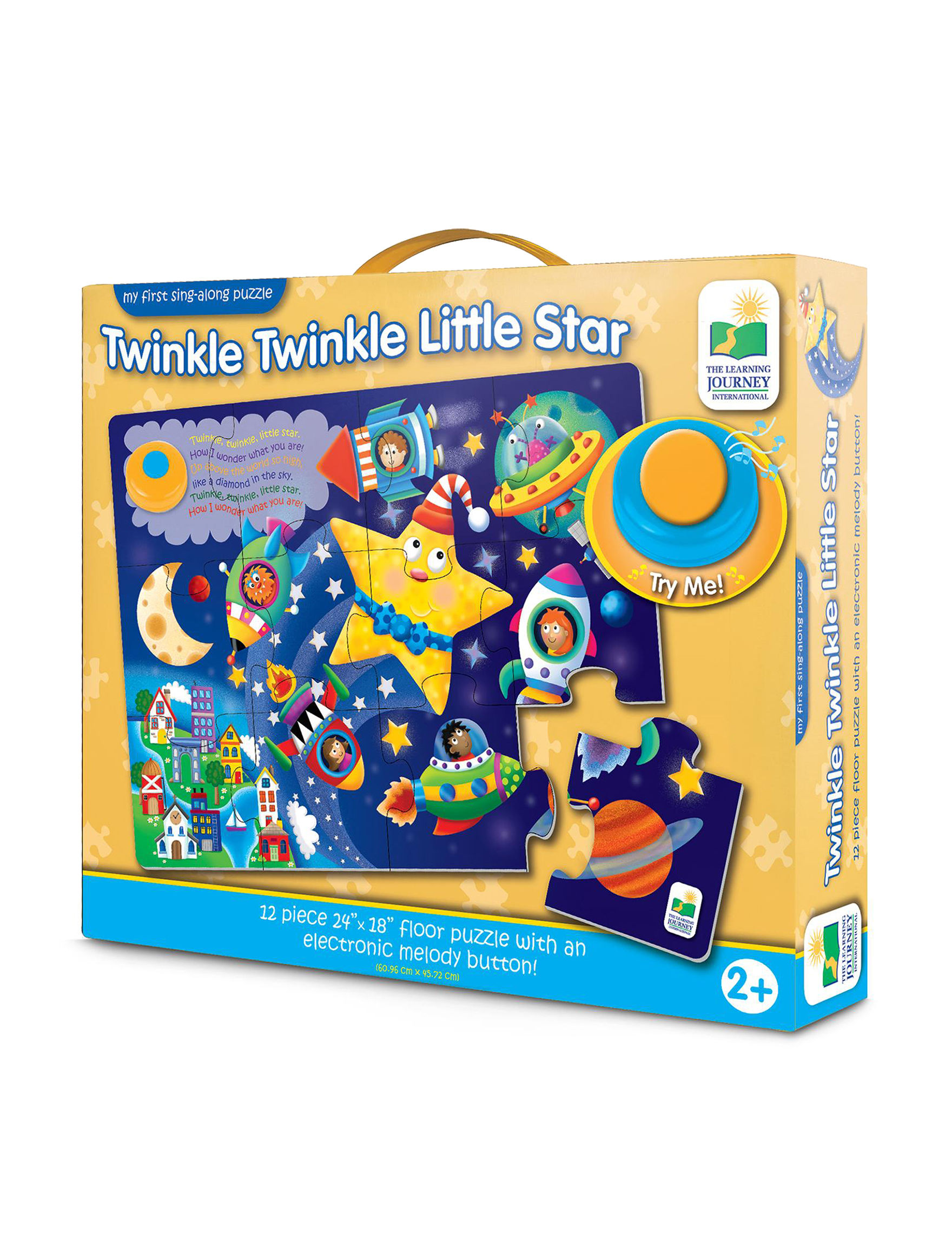 The Learning Journey Yellow Multi Puzzles