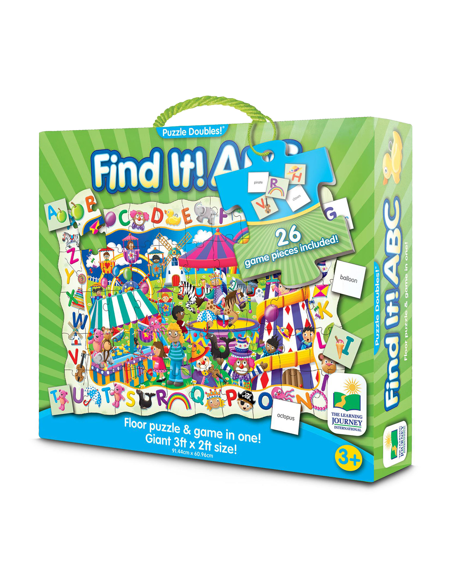The Learning Journey Green Multi Puzzles